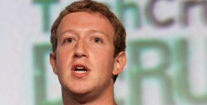 Mark Zuckerberg face
