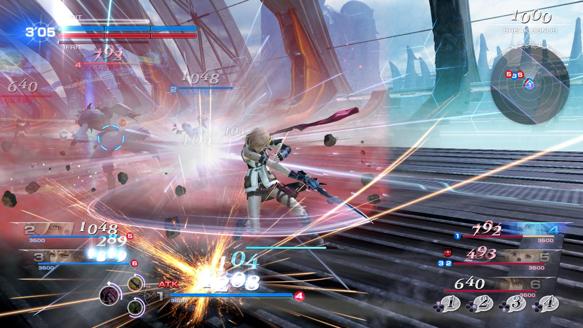 Dissidia Final Fantasy NT Lightning