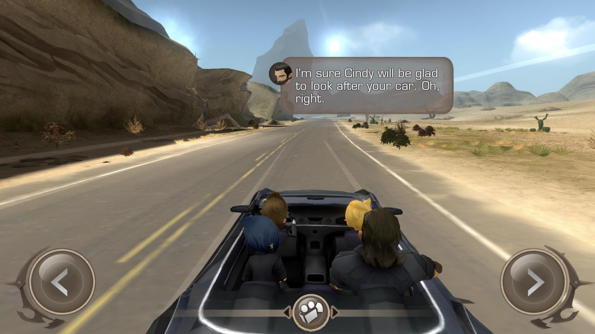 Final Fantasy XV Pocket Edition car