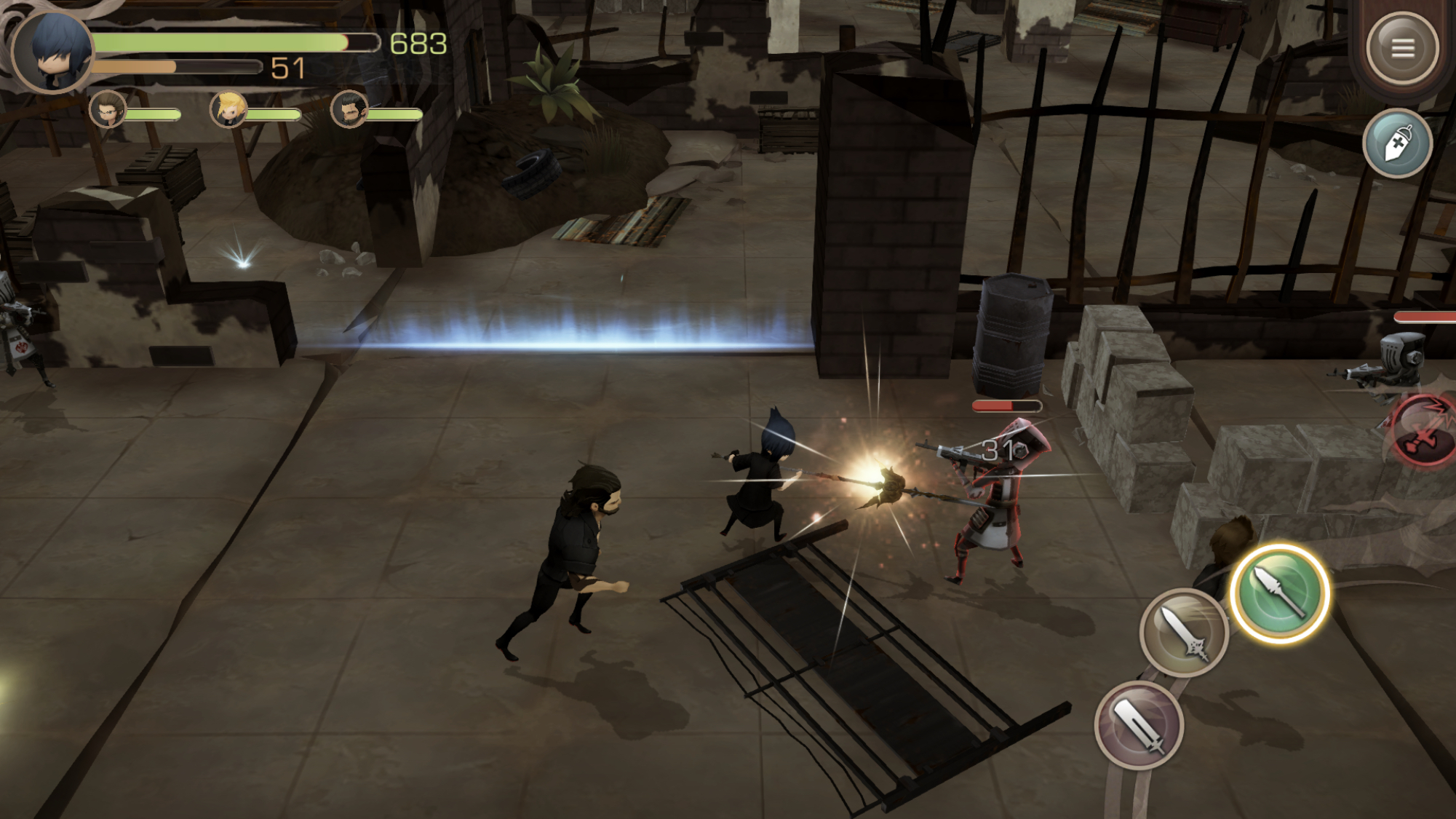 Final Fantasy XV: Pocket Edition is a great mobile
