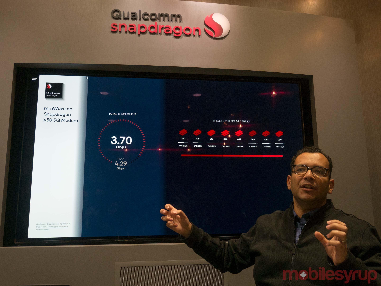 Qualcomm's X24 LTE modem features 2Gbps peak download speeds