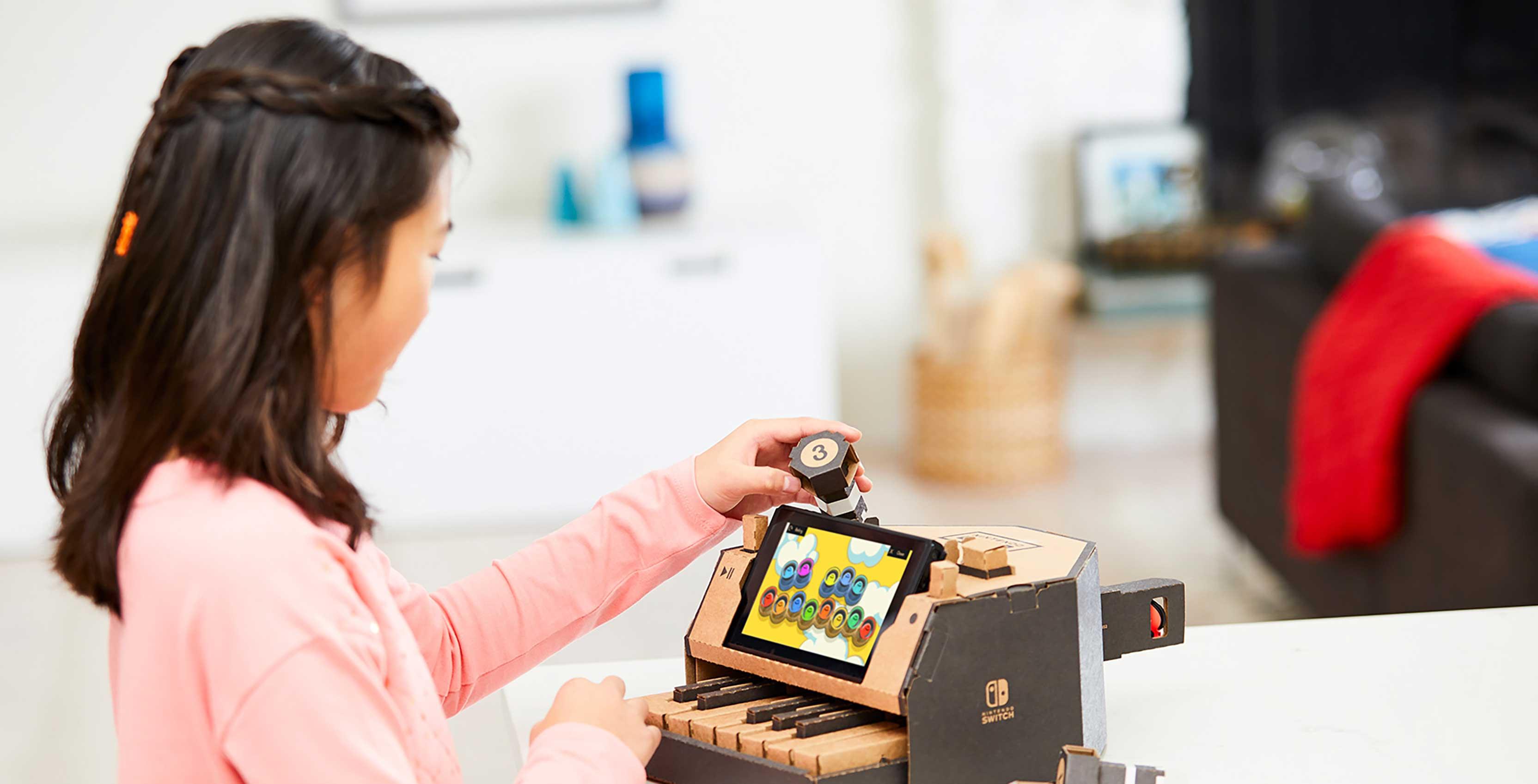 Nintendo Labo Toy-Con piano
