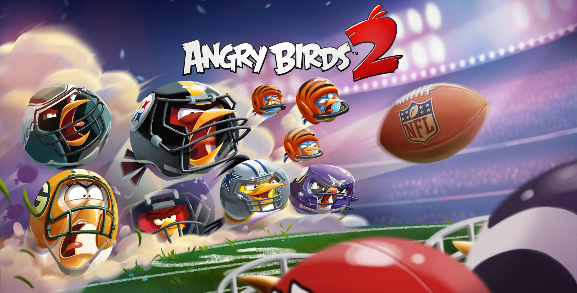 Angry Birds Super Bowl LII NFL event