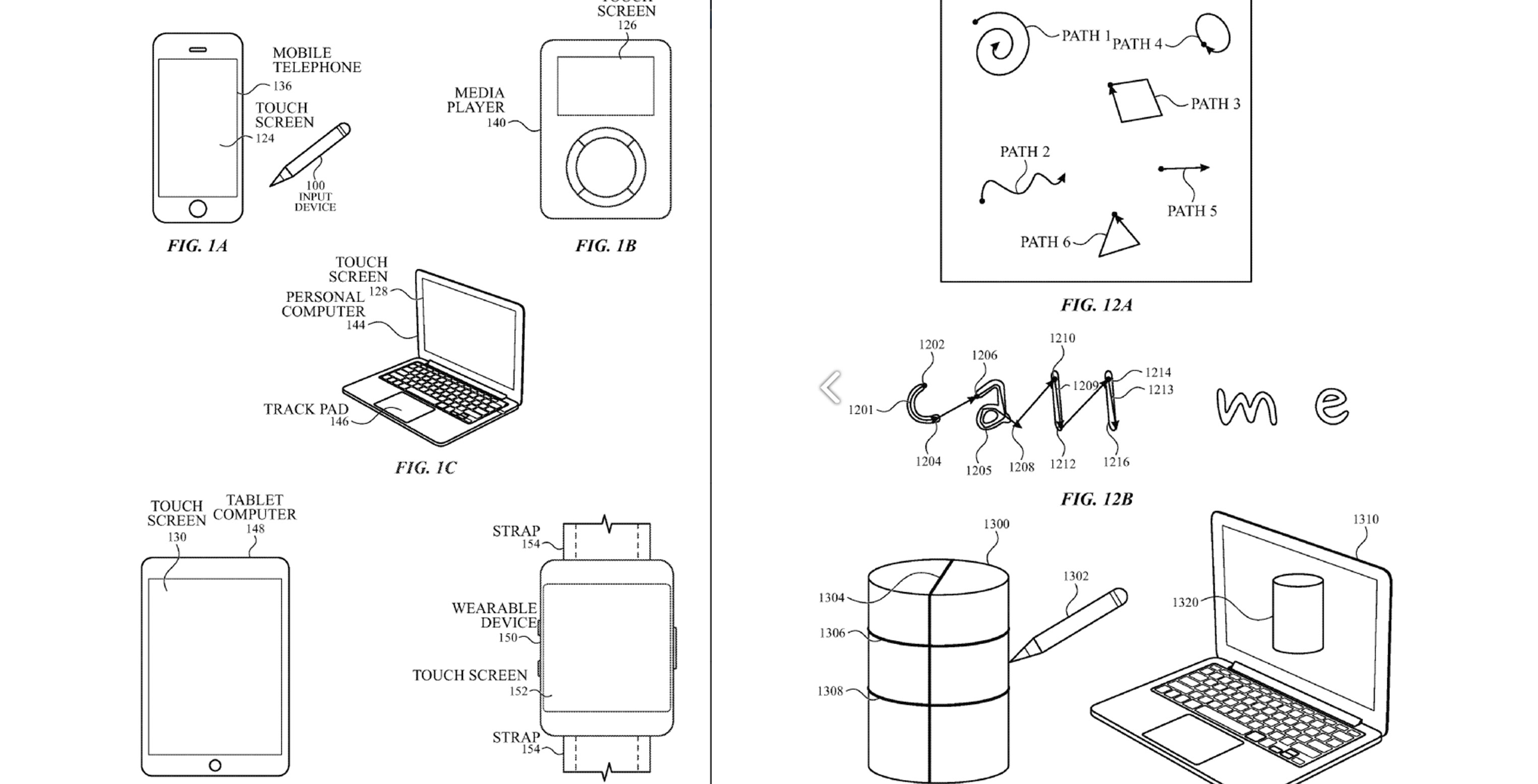 Apple files patent for stylus that works without a screen
