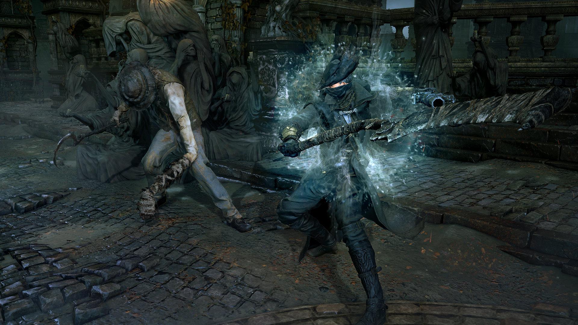 Bloodborne combat