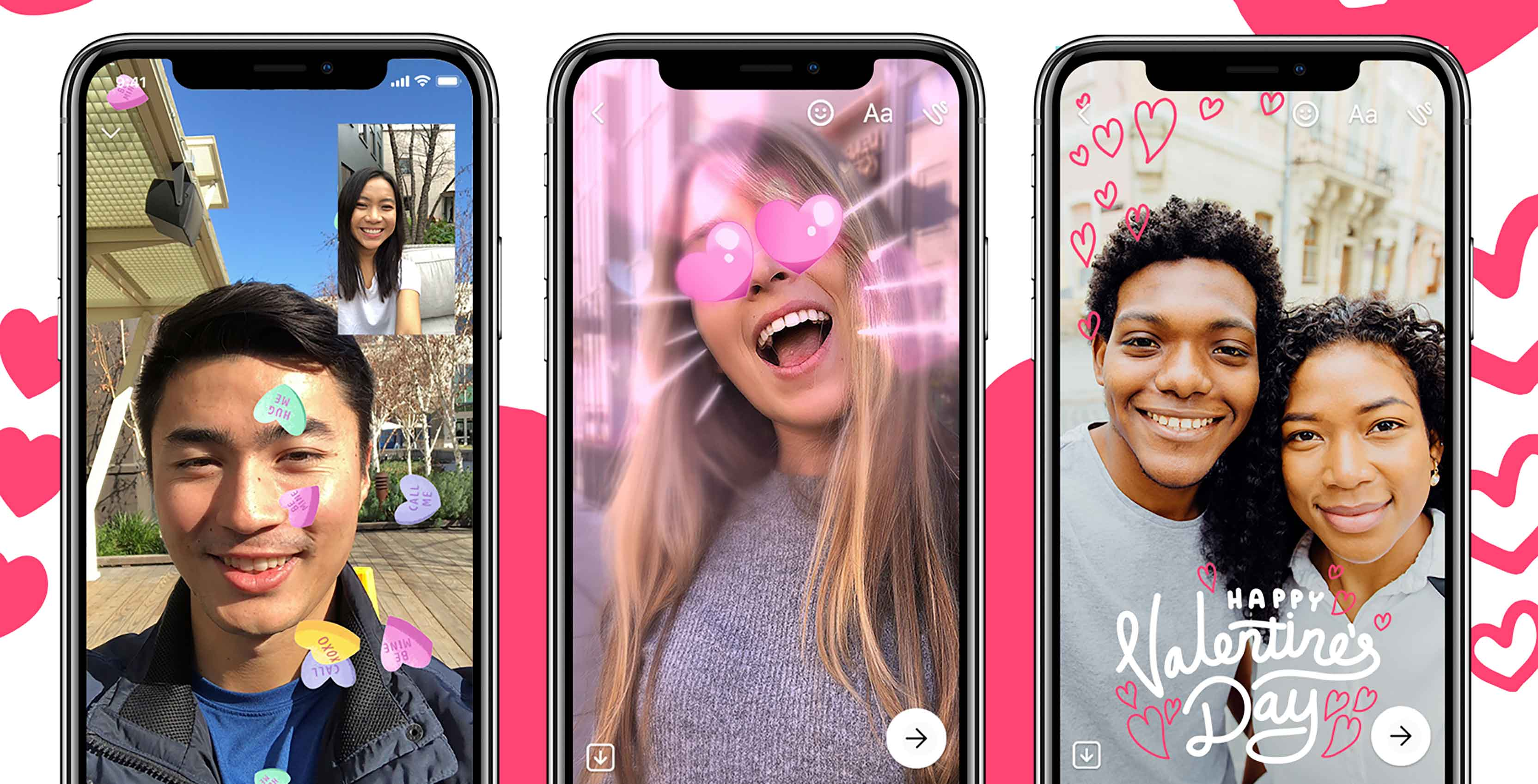 Express love with Messenger this Valentine's Day