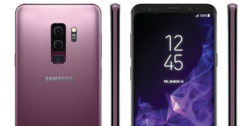 Galaxy S9 in lilac purple