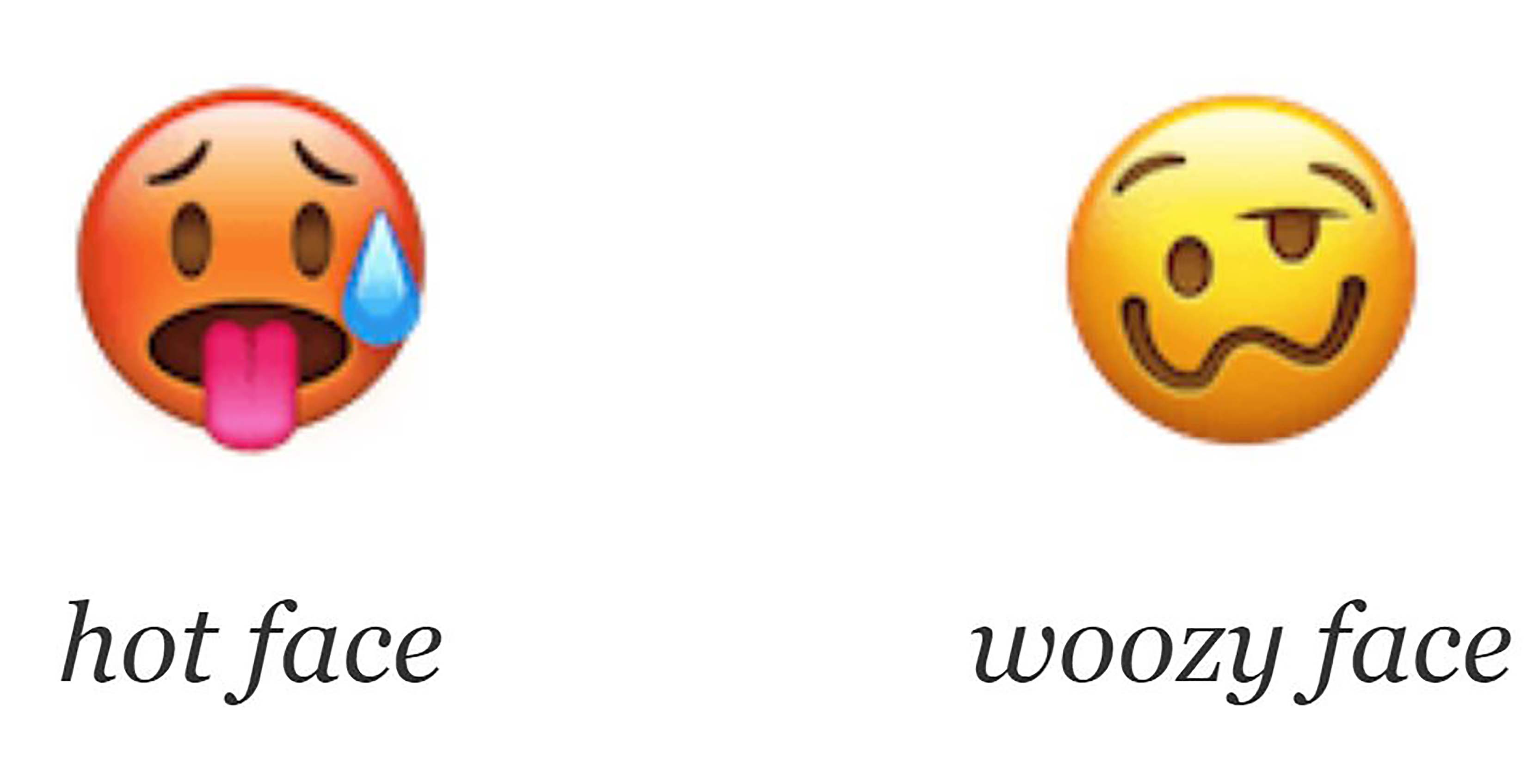 The Unicode Consortium has accepted 157 new emoji, including
