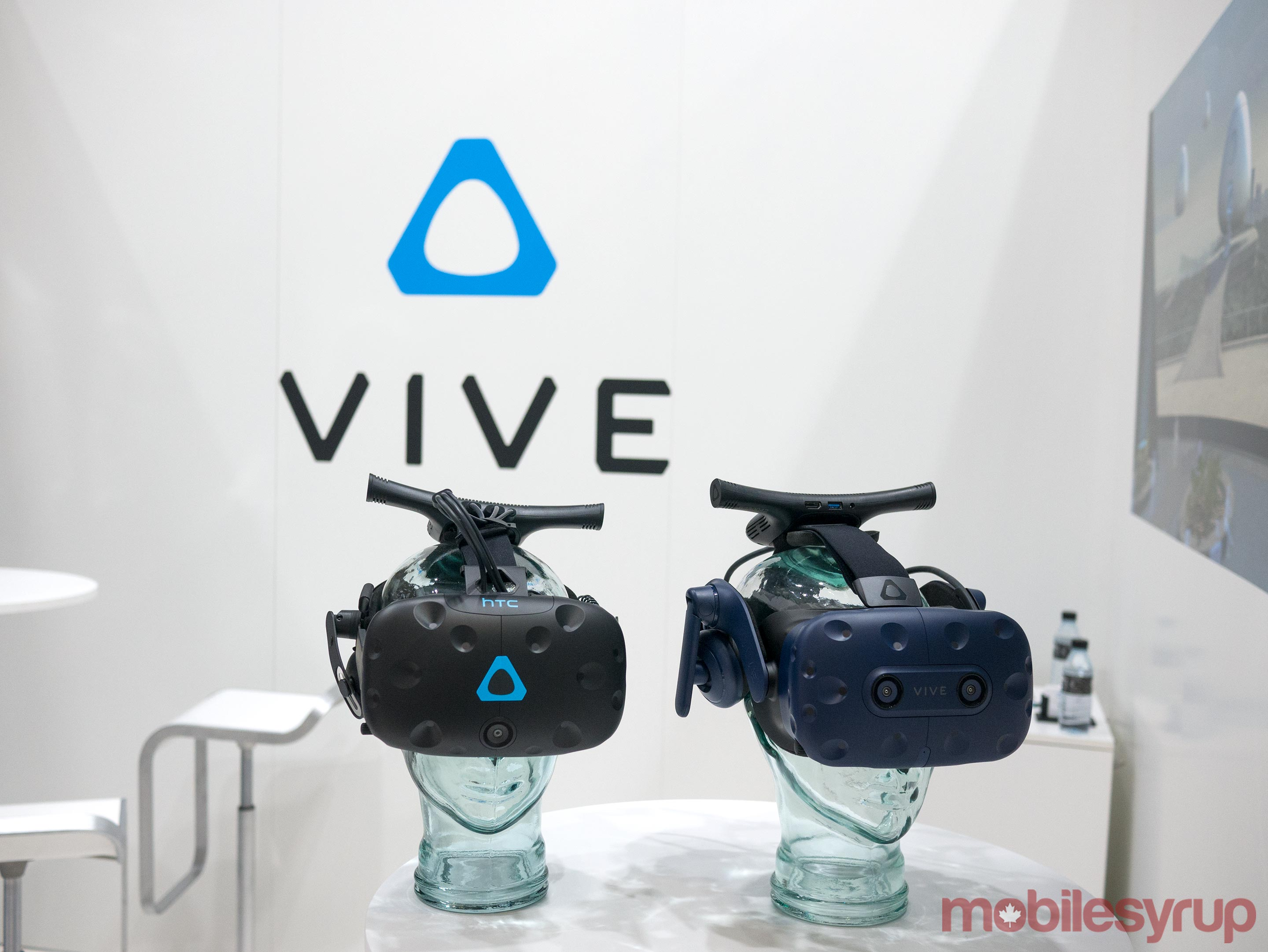 HTC Vive and HTV Vive Pro