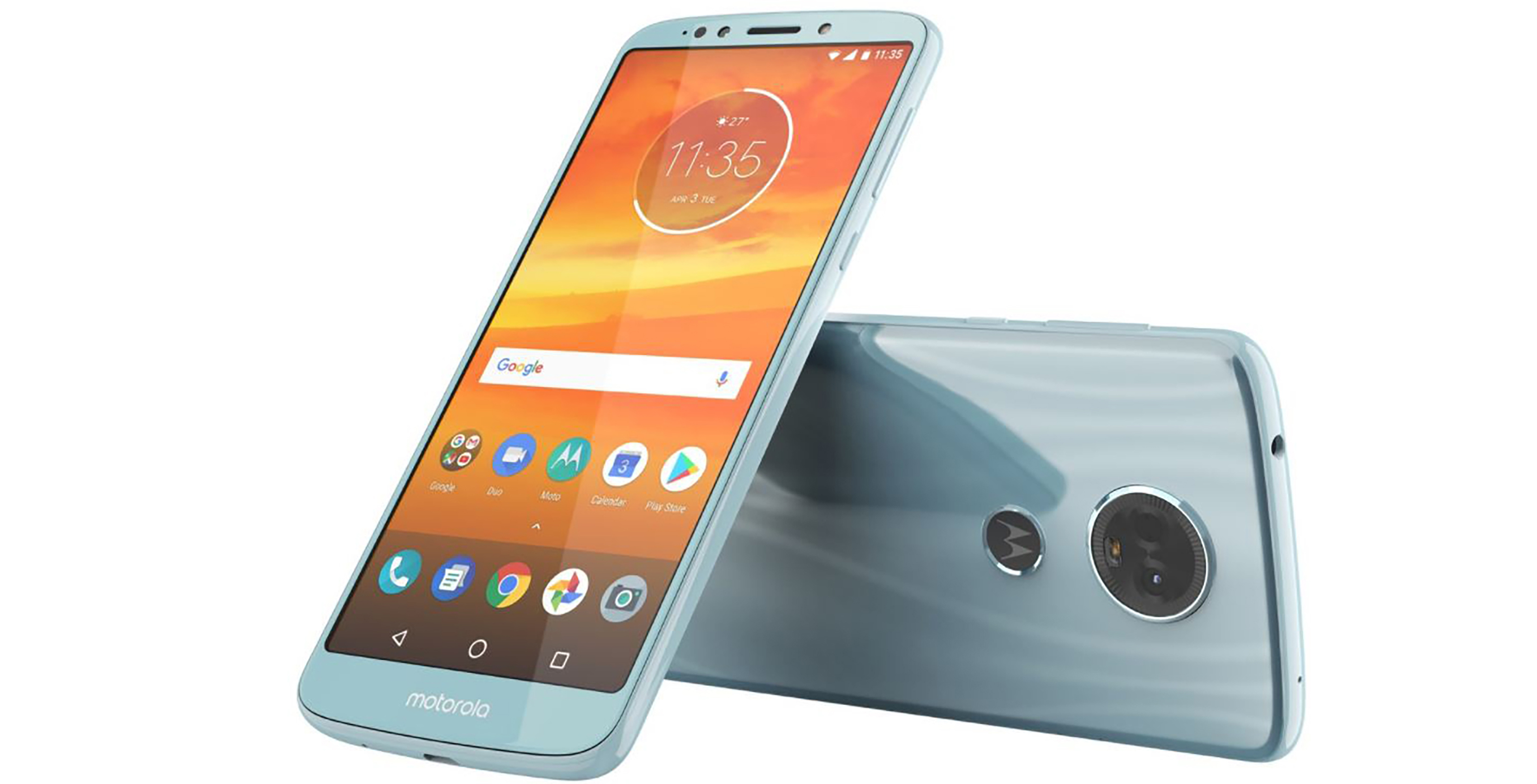 Motorola Moto E5 Plus render leaked, to come with 18:9 display