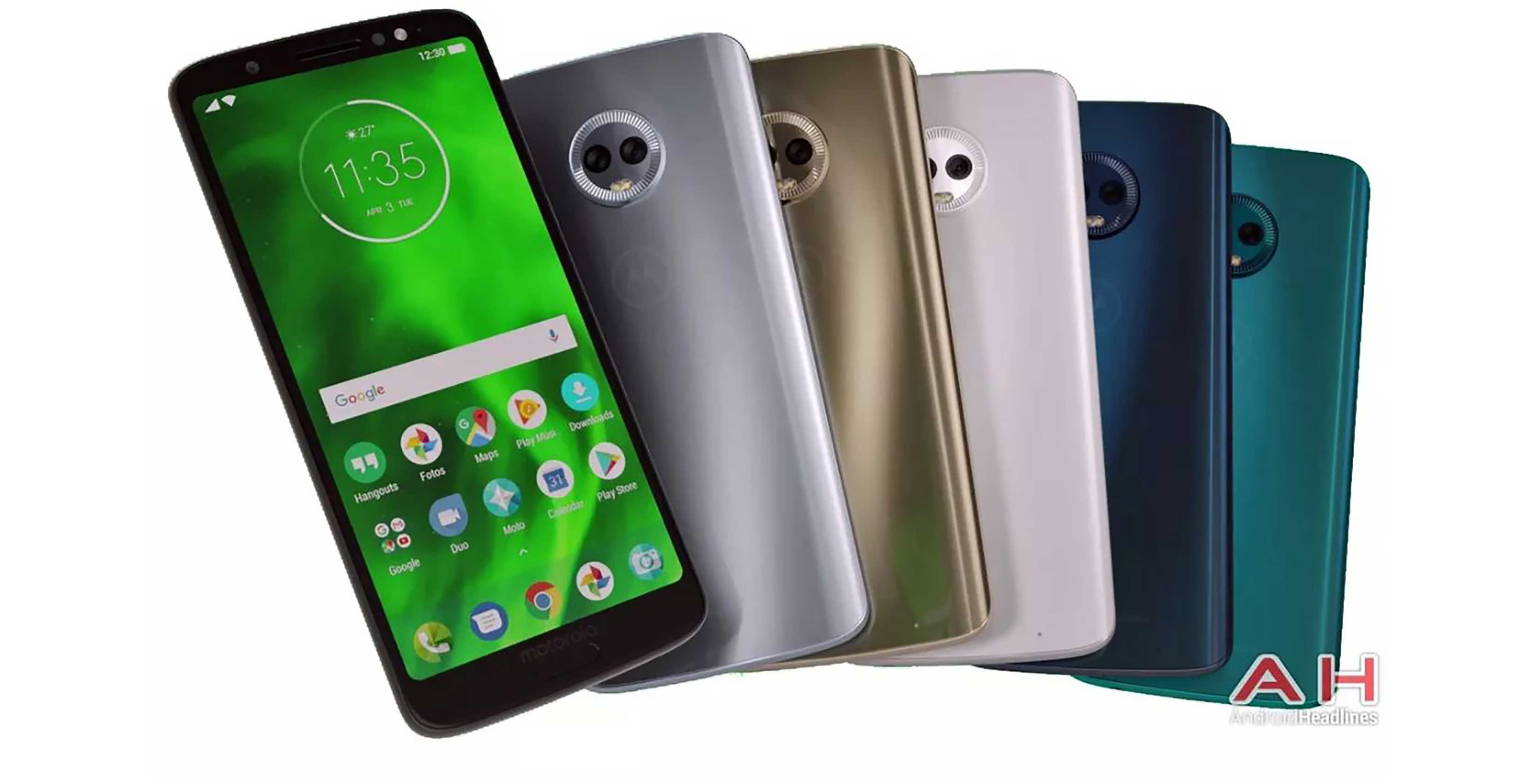 Moto G6 Plus Cases Leak, Along With Phone Renders