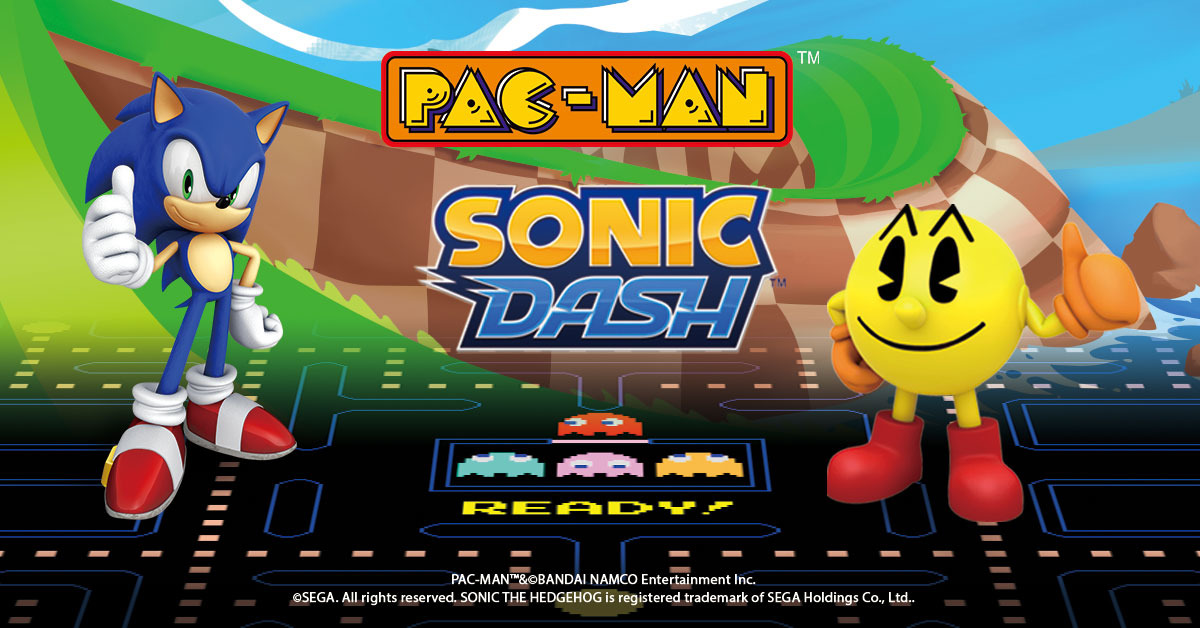 Sonic and Pac-Man Are Invading Each Other's Mobile Titles