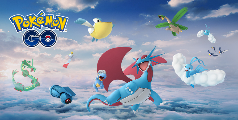 Rayquaza and More Gen 3 Pokemon Fly into Pokemon GO Tomorrow