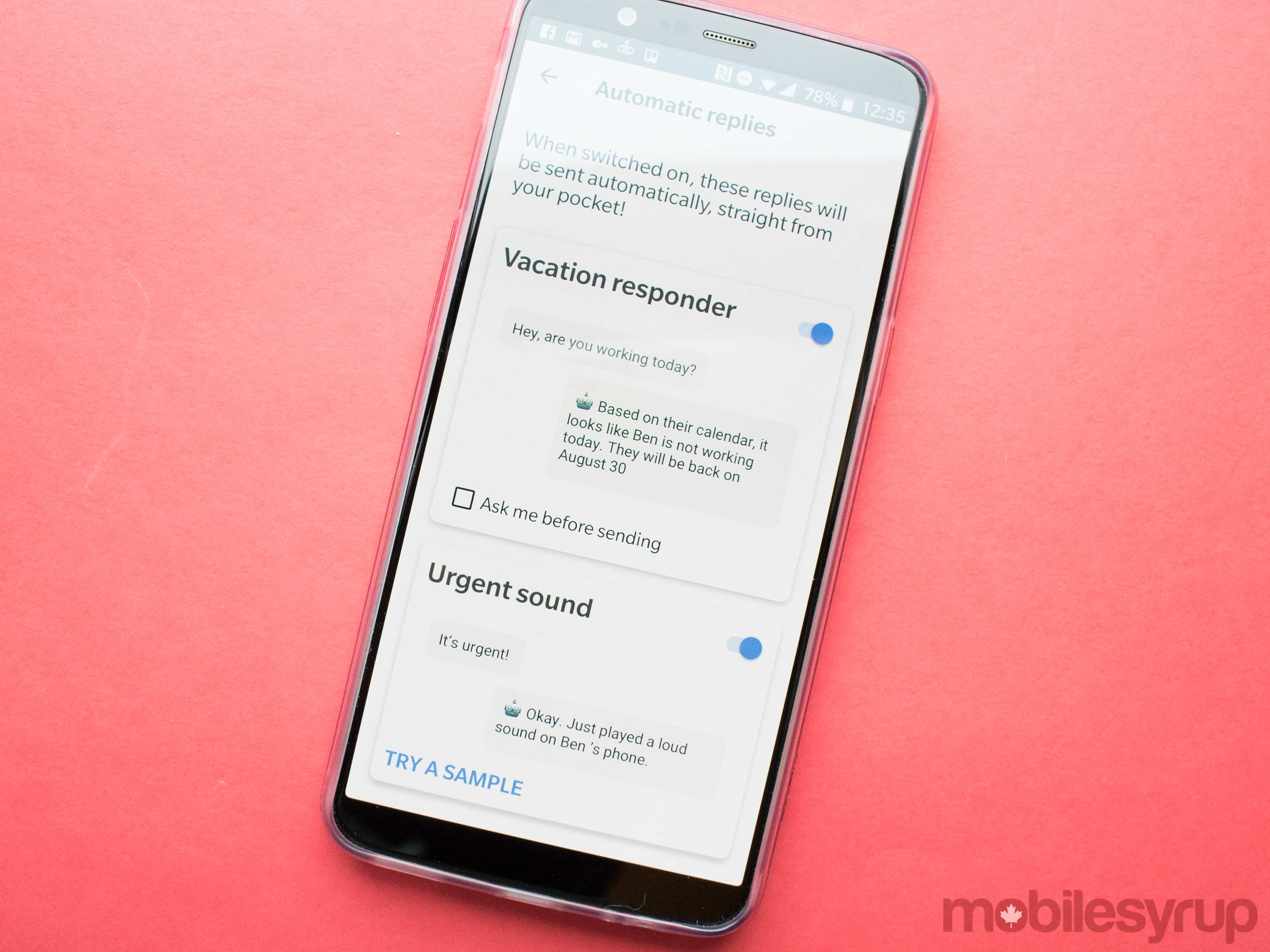 Google's AI-powered Reply app is available via APK download
