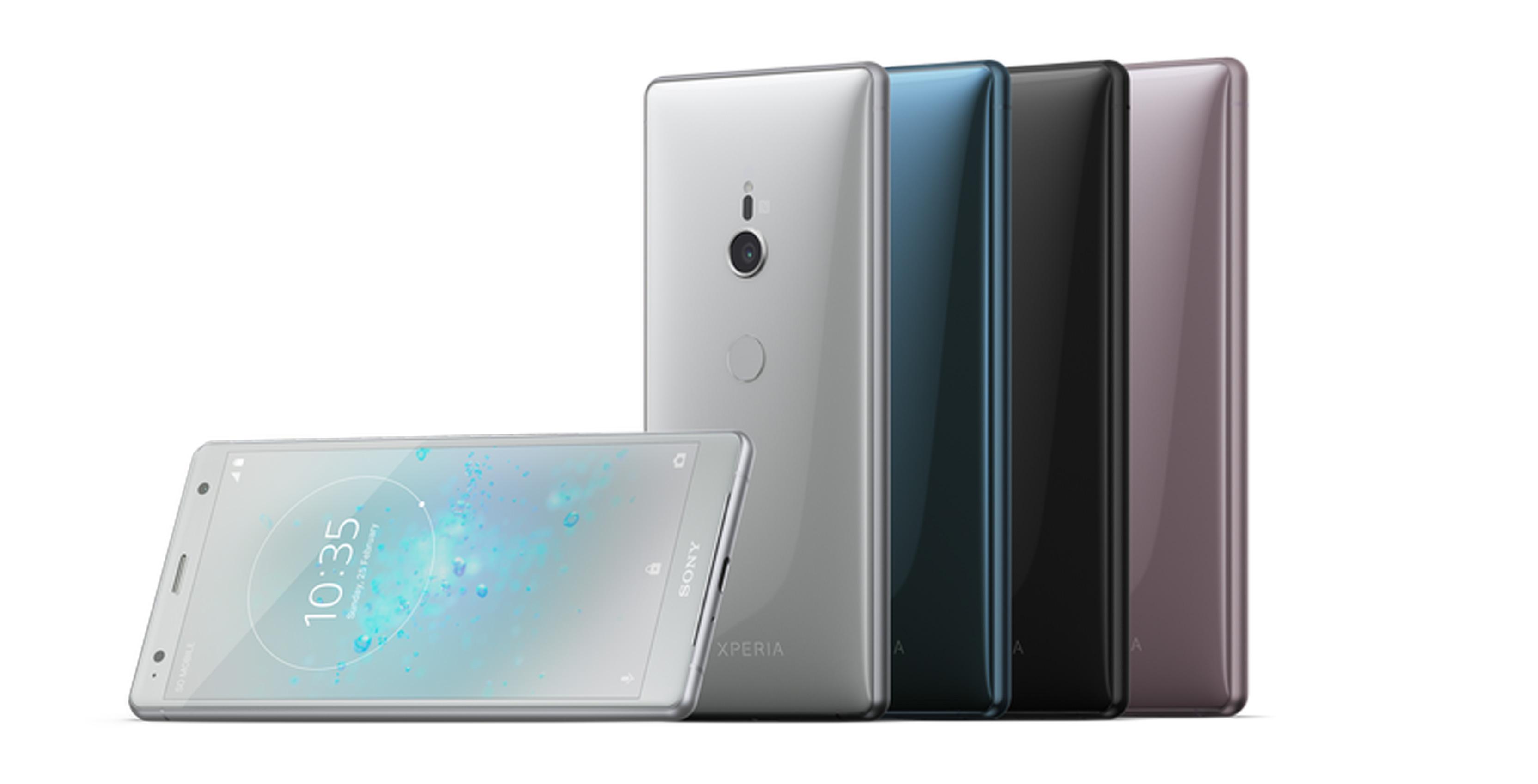 Sony's new Xperia XZ2 lineup