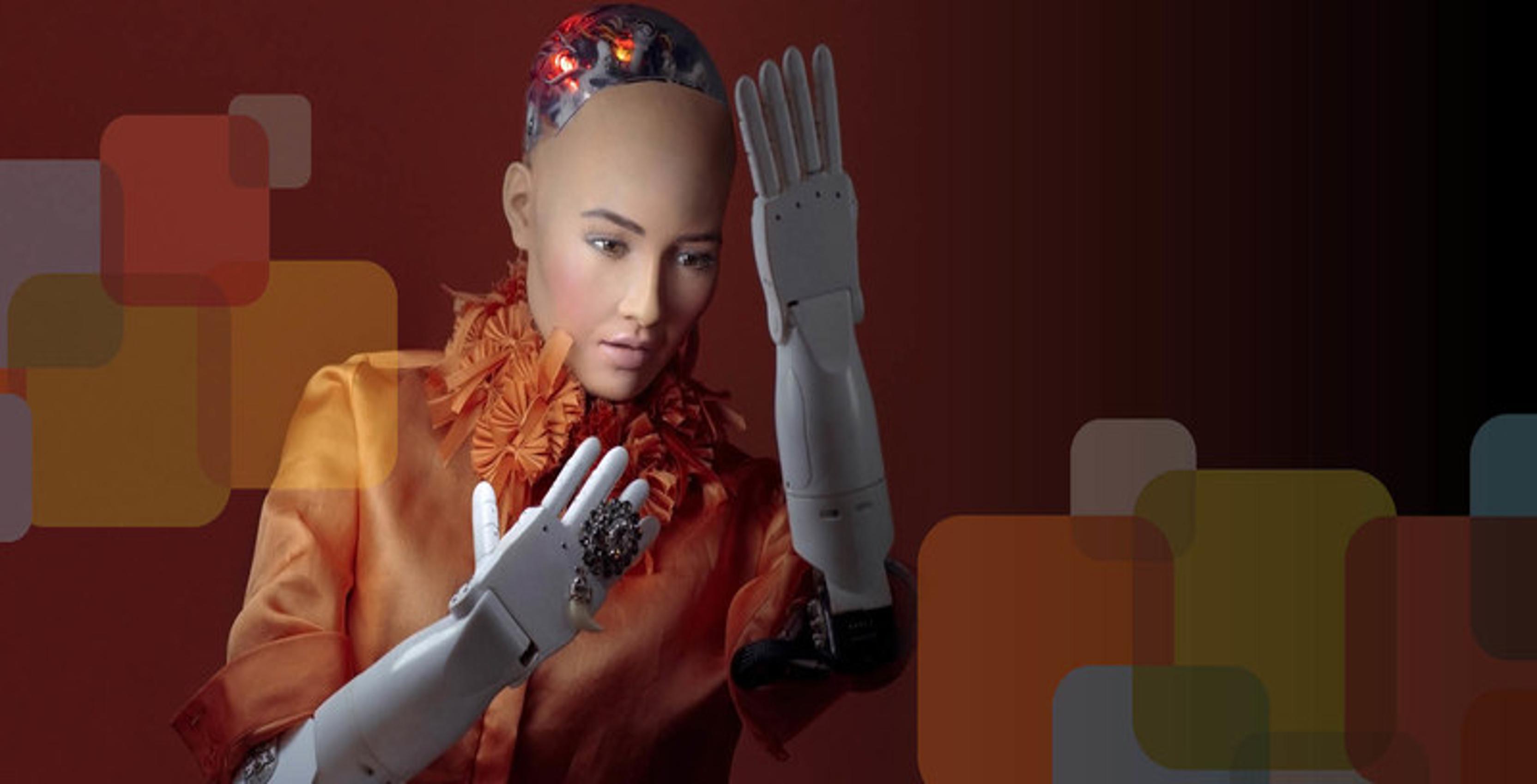 Risultati immagini per robot sophia