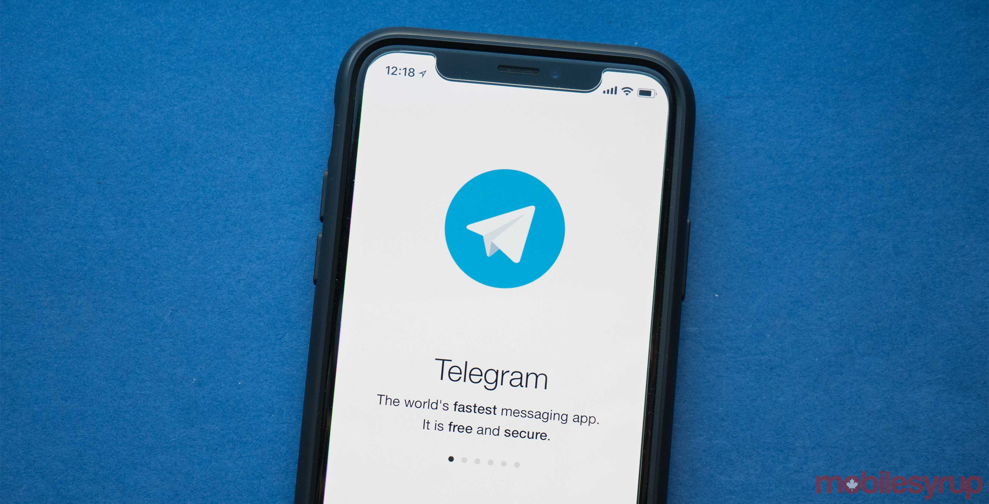 Apple temporarily removed Telegram from the App Store