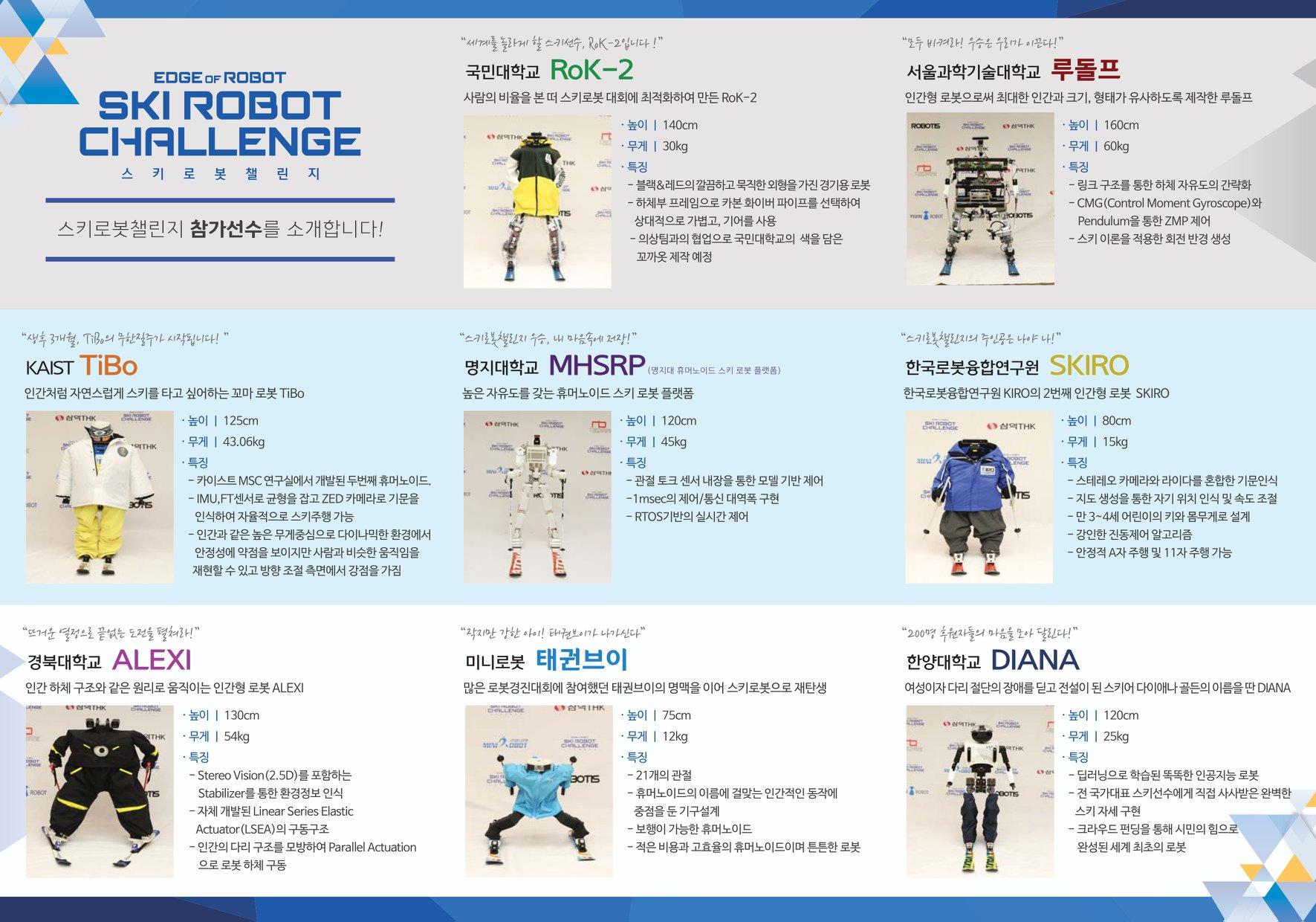 Winter olympics Robot Challenge