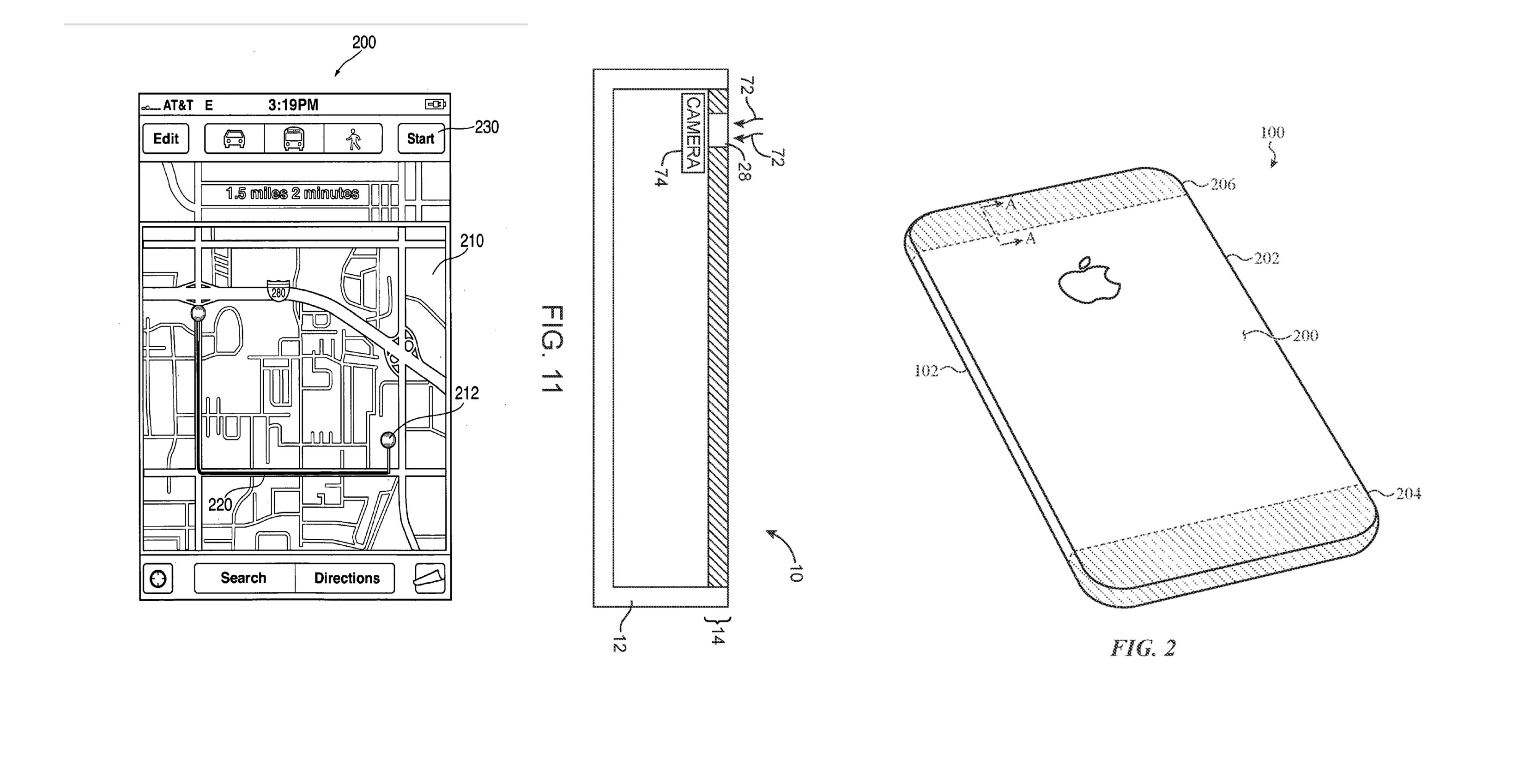 Apple patented a new material for creating smartphones 11