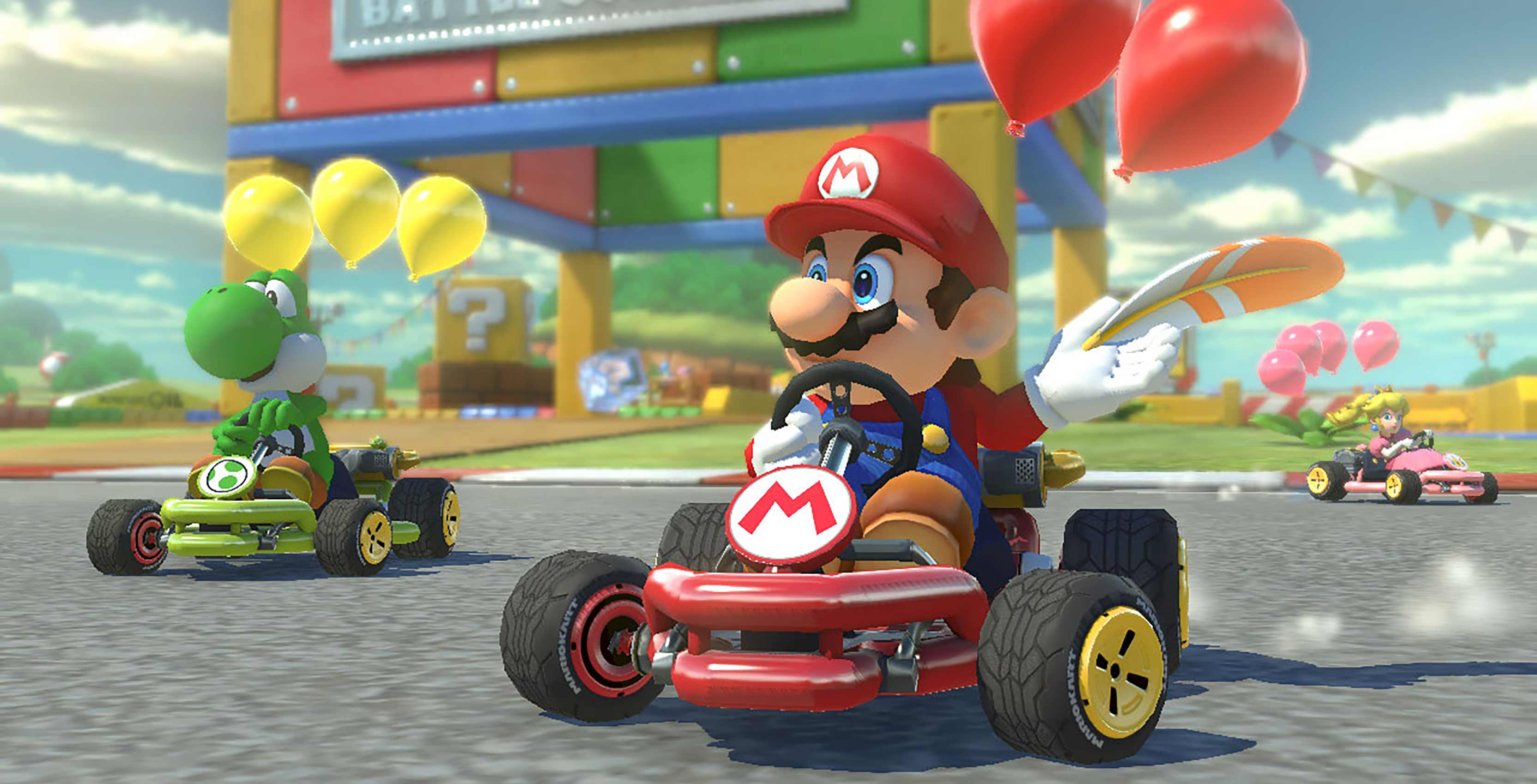 Mario invades Google Maps to help you avoid bananas while driving