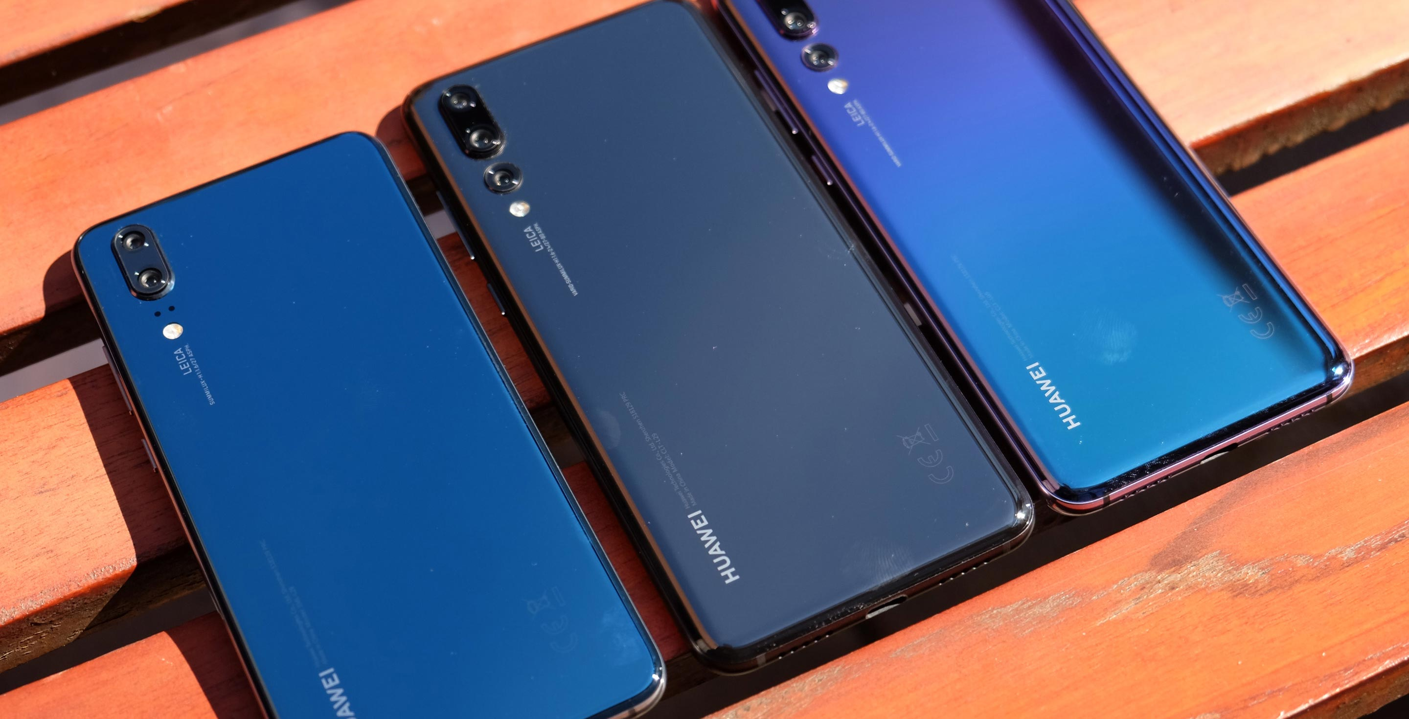 Here's how the Huawei P20 Pro compares to the Google Pixel 2