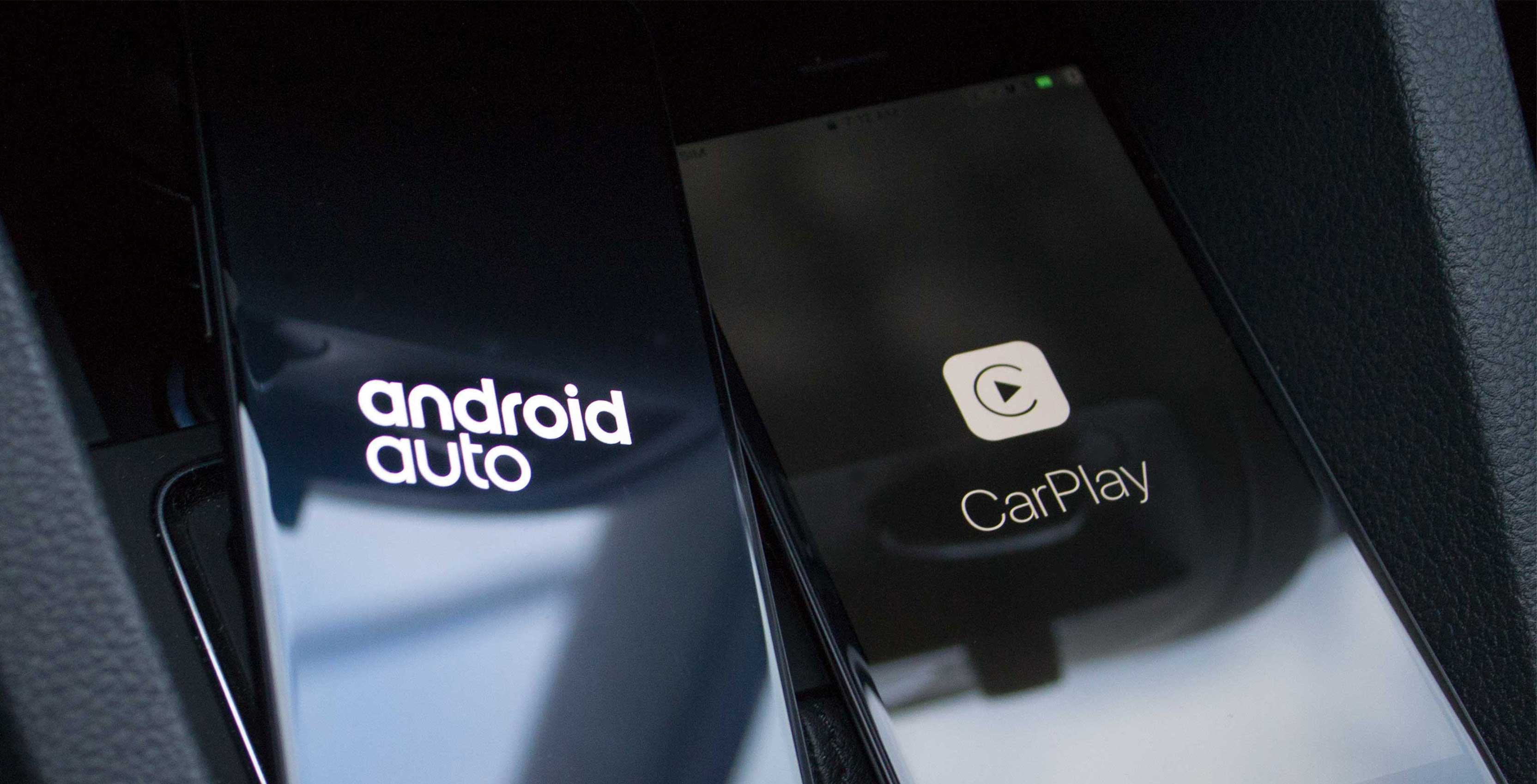 CarPlay and Android Auto: different routes, same destination