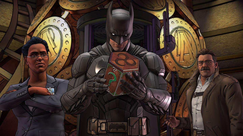 Batman, Amanda Waller and James Gordon