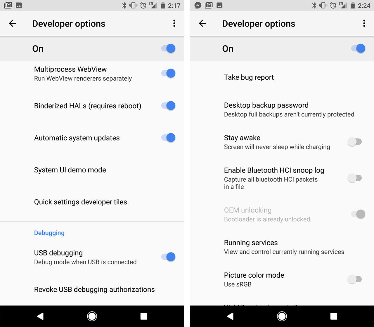 How to flash the Android P Developer Preview on compatible
