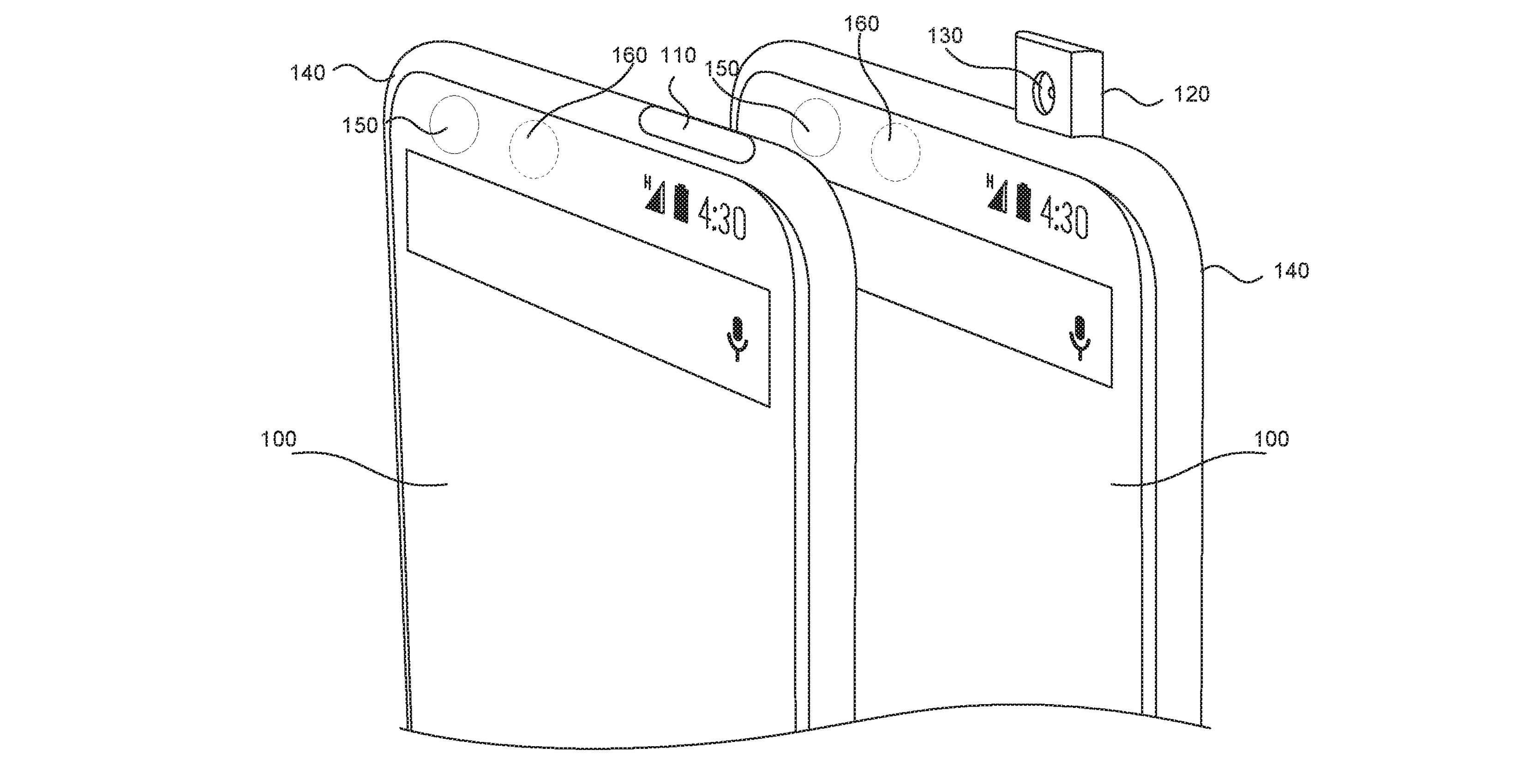 Essential patent for a pop-up camera smartphone