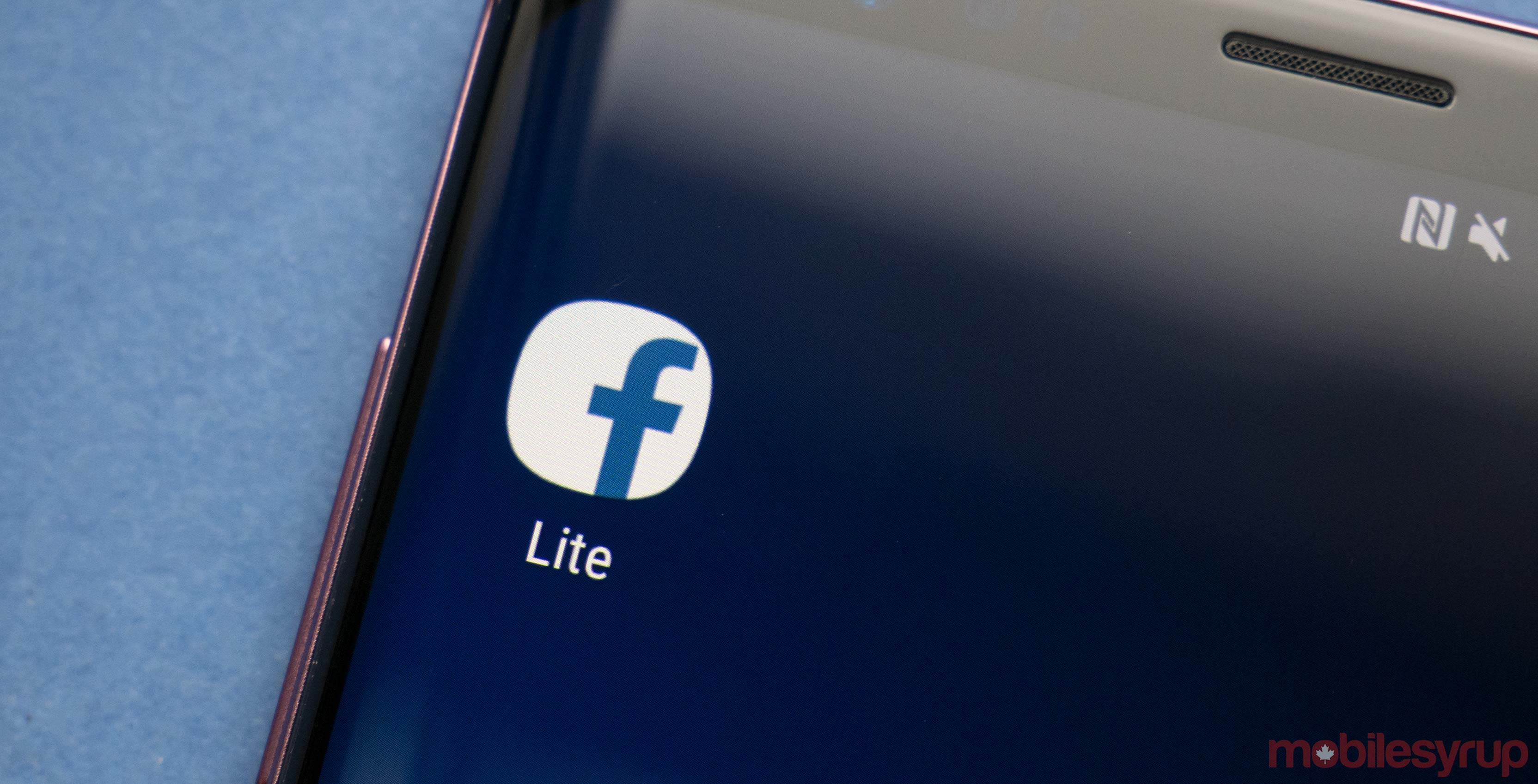 Facebook Lite is now available on Android in Canada