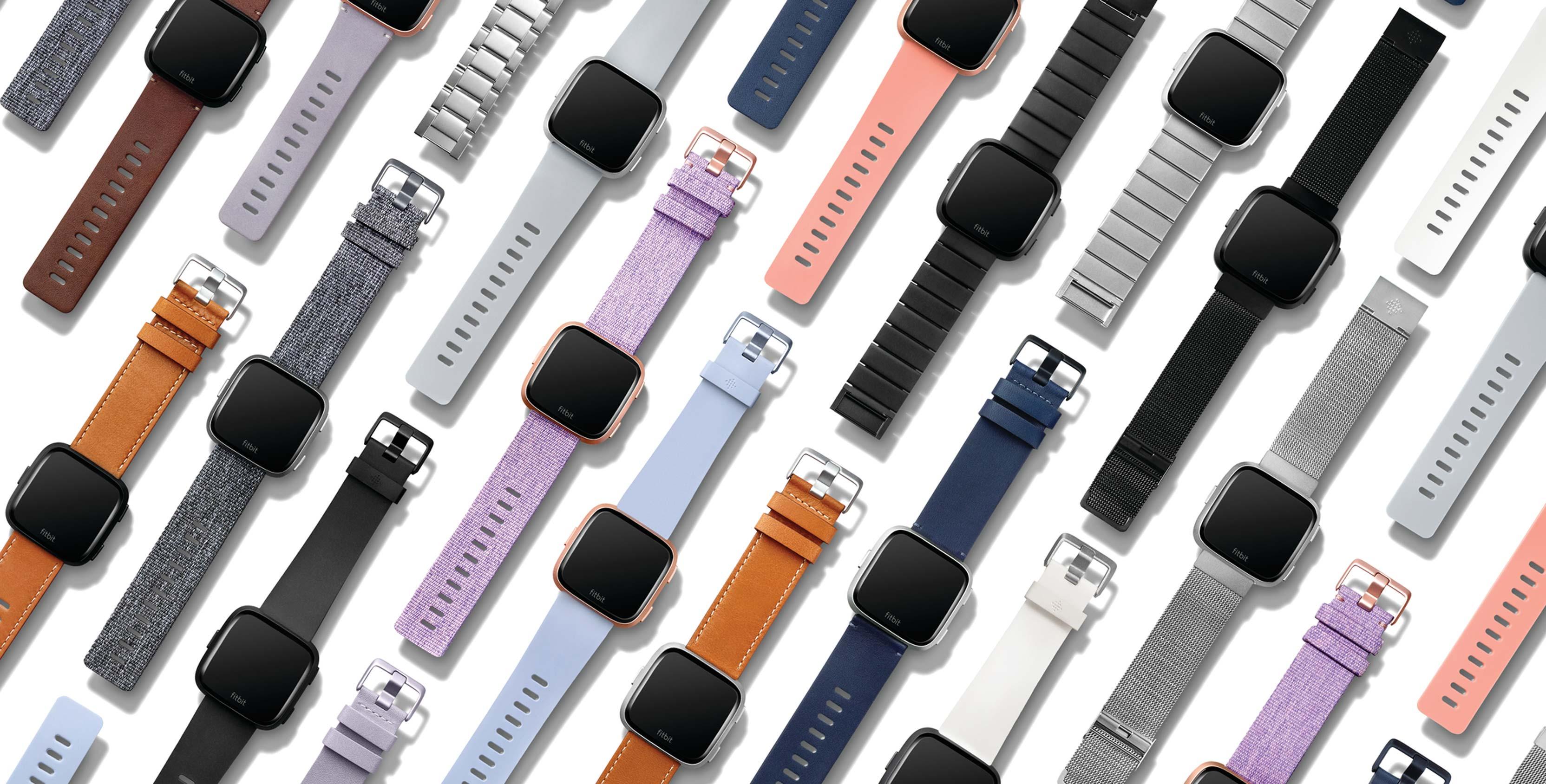 Fitbit's new Versa smartwatch family