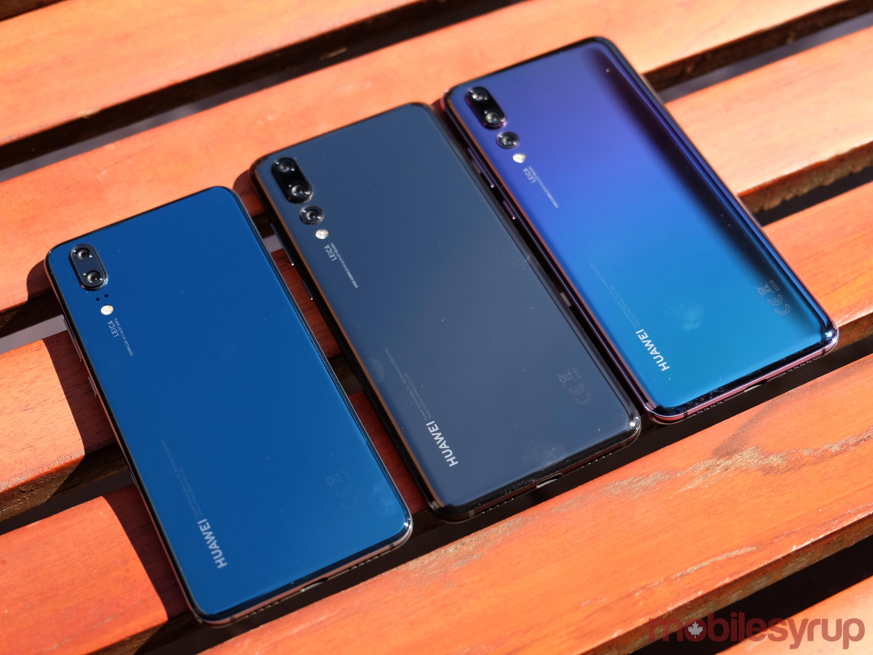 Huawei P20 line-up