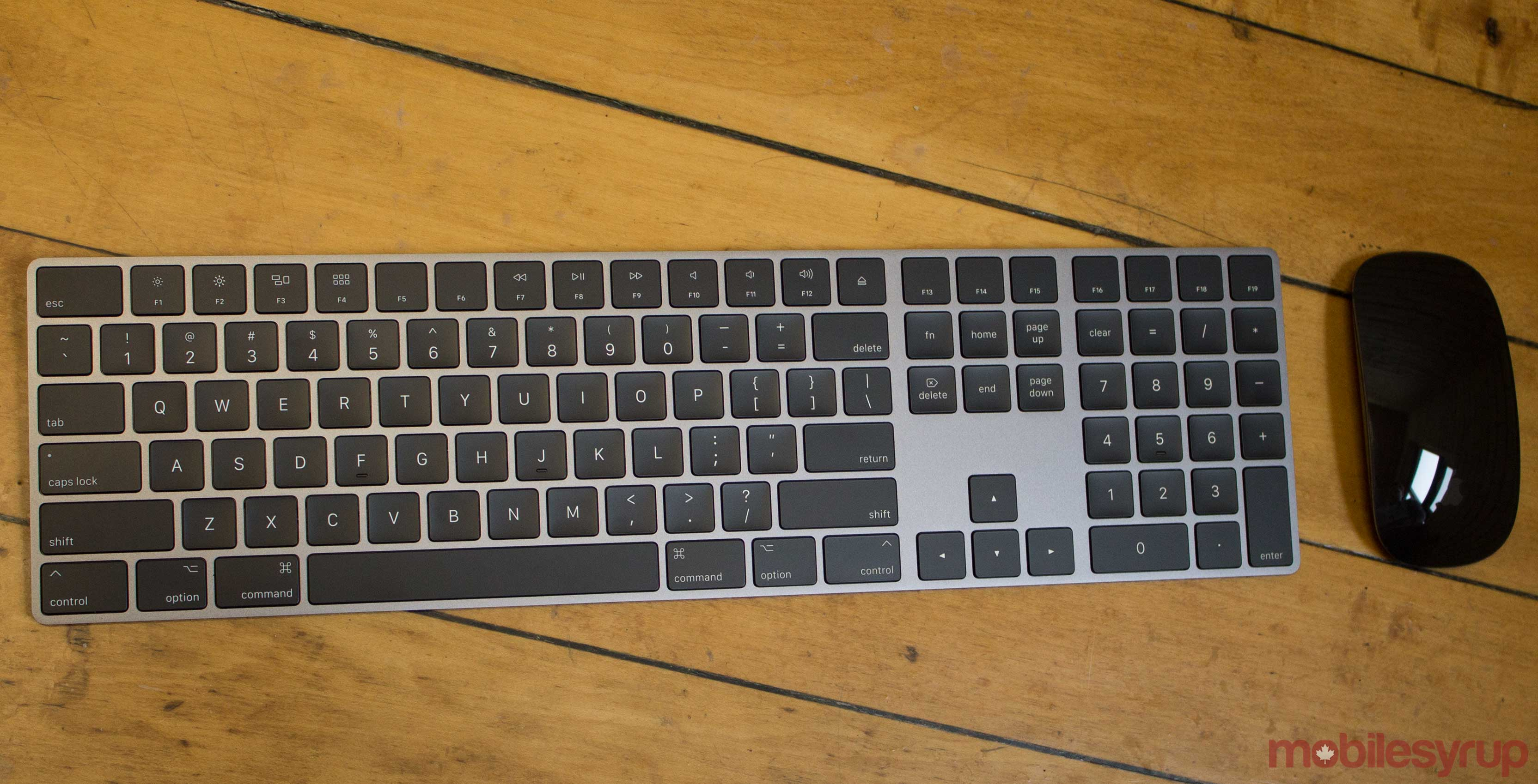 df4429180a5 When Apple launched the iMac Pro at the end of 2017, many were surprised to  find out that the sleek space grey keyboard, mouse and trackpad that  shipped ...