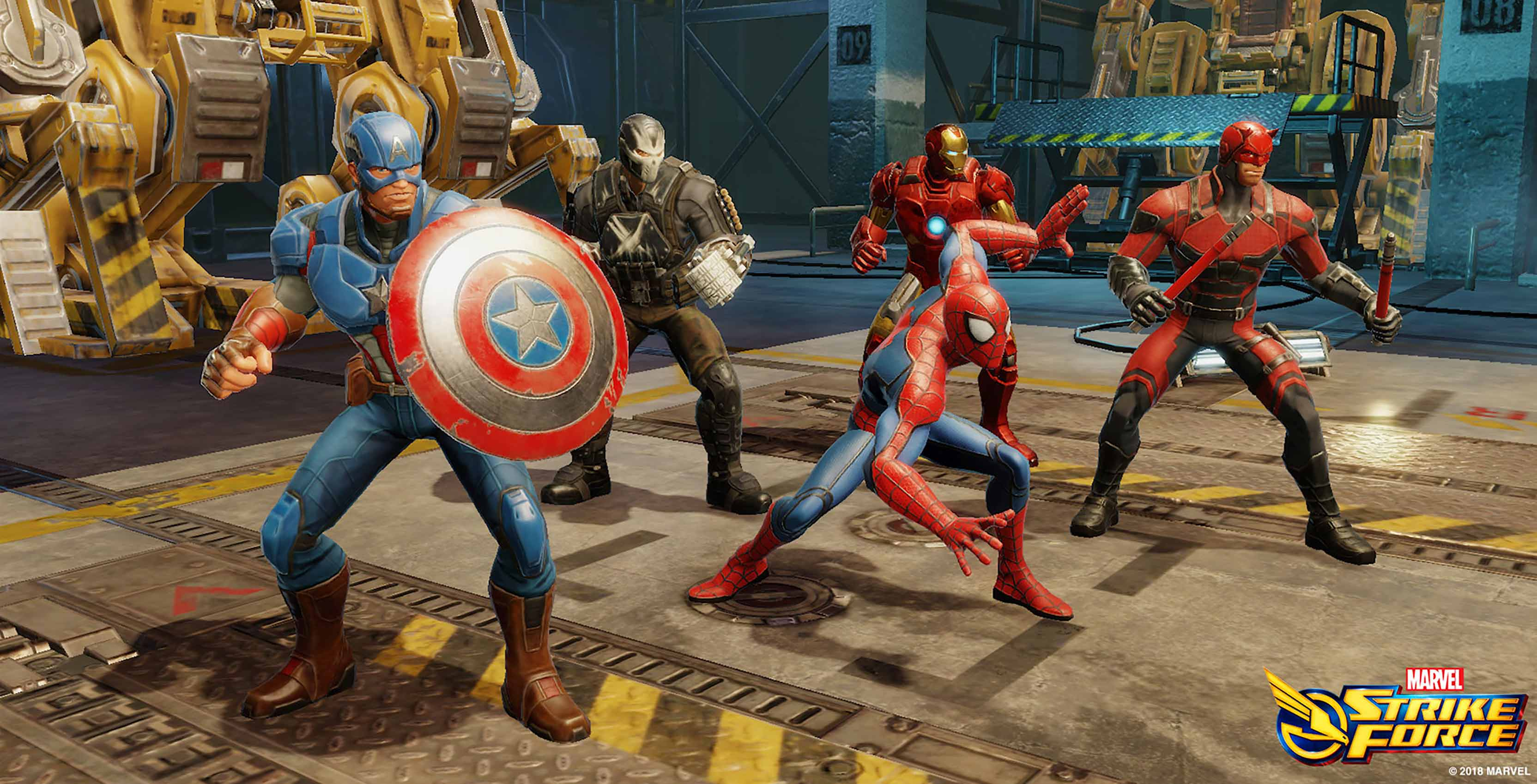 Marvel Strike Force characters