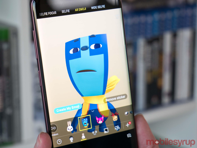 S9 AR emoji