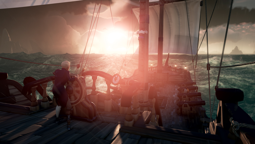 Sea of Thieves sunset