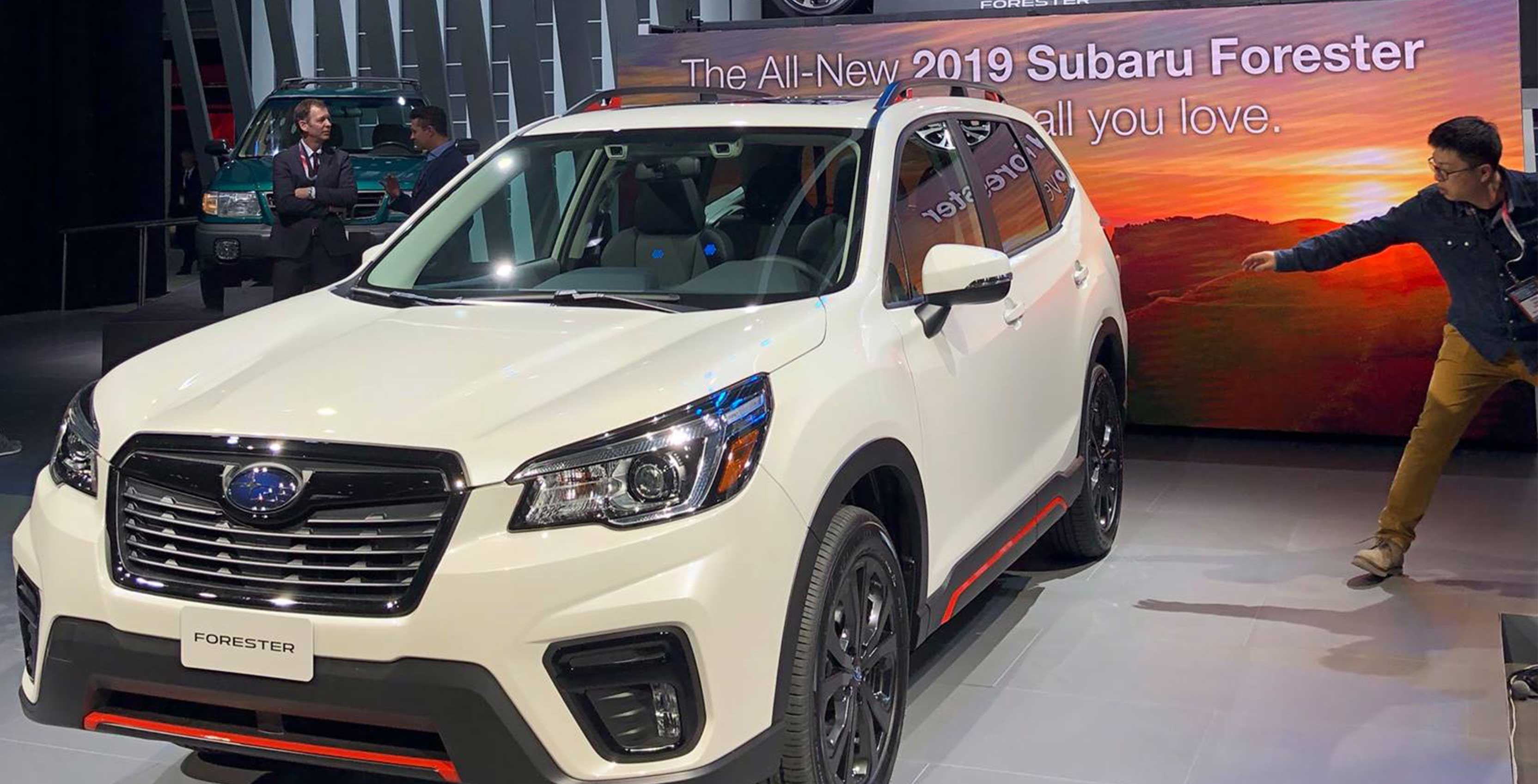 Subaru is using facial recognition in its new Forester to detect
