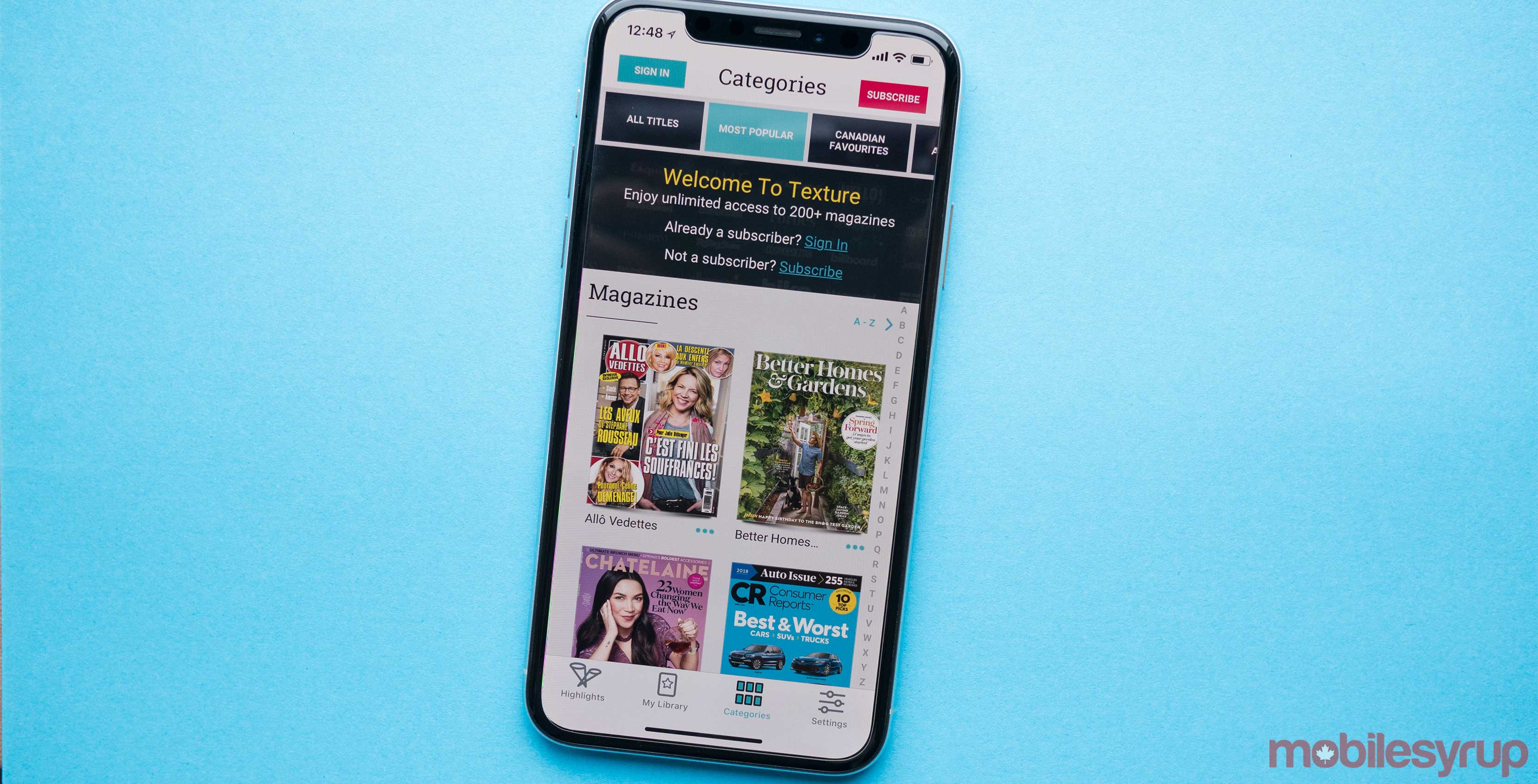 805966143c2 Cupertino computing giant Apple will soon be the the owner of a magazine  distribution app.
