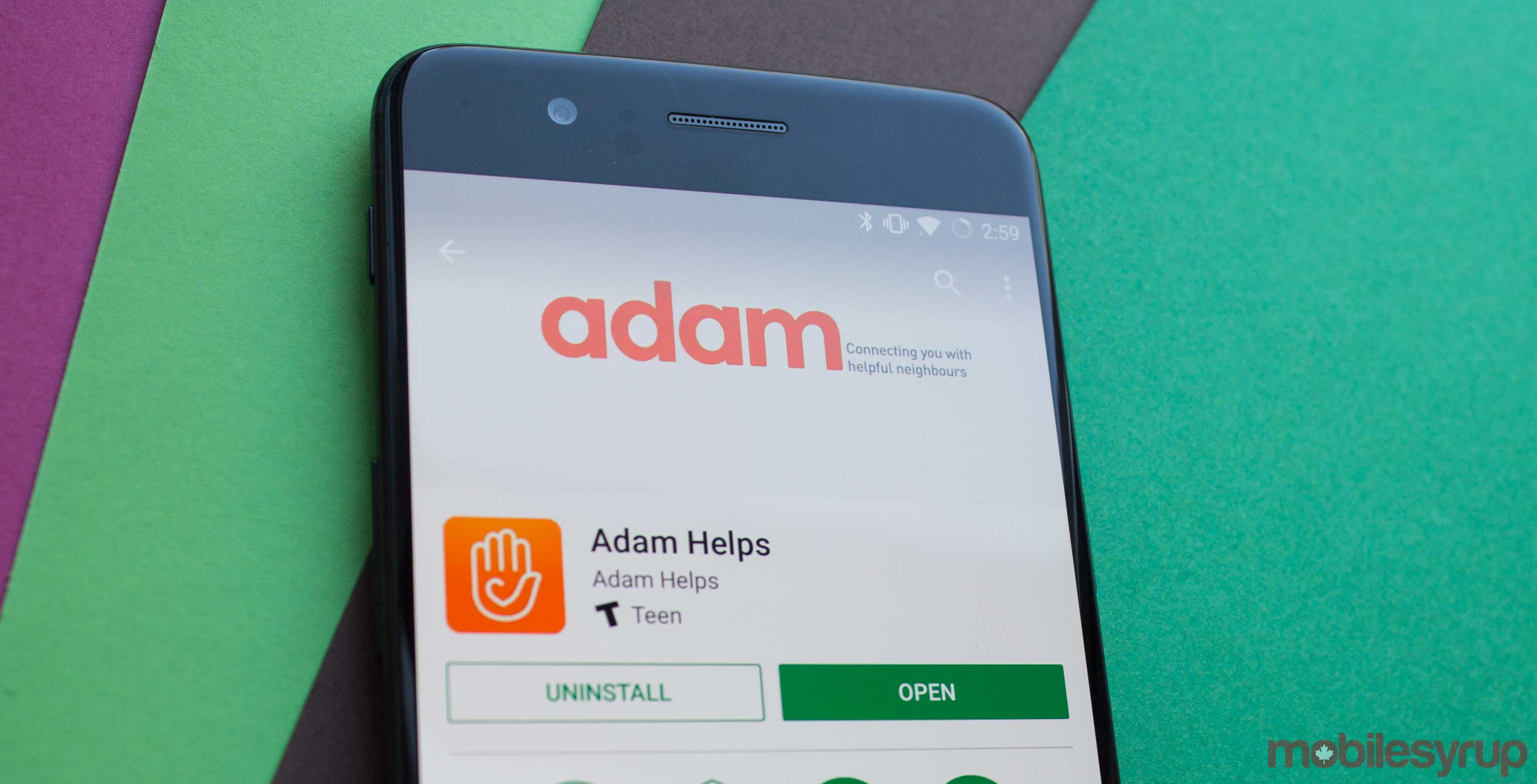Canadian classifieds app Adam Helps launches on Android