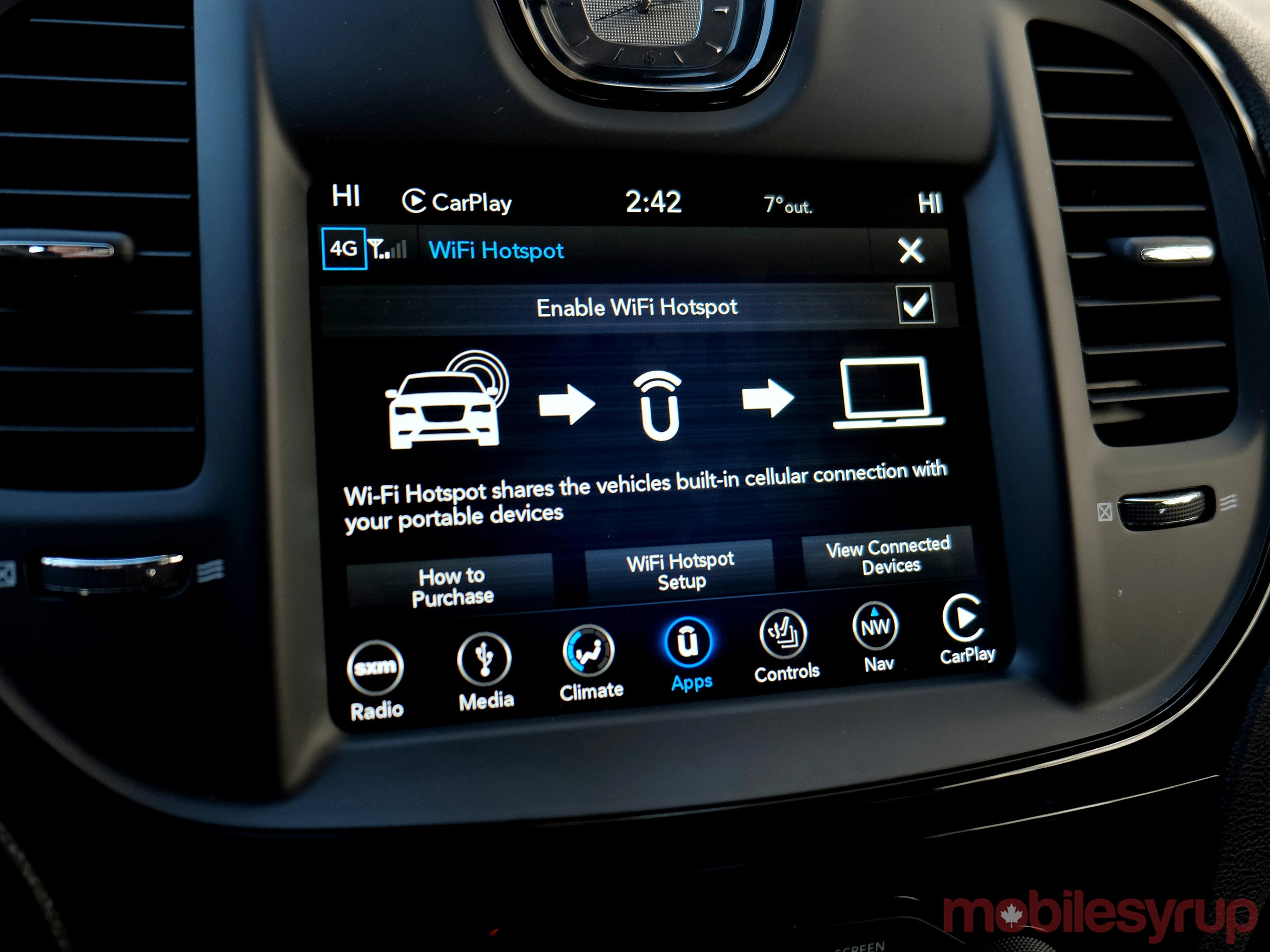 2018 Chrysler Uconnect Review: Back and forth | MobileSyrup