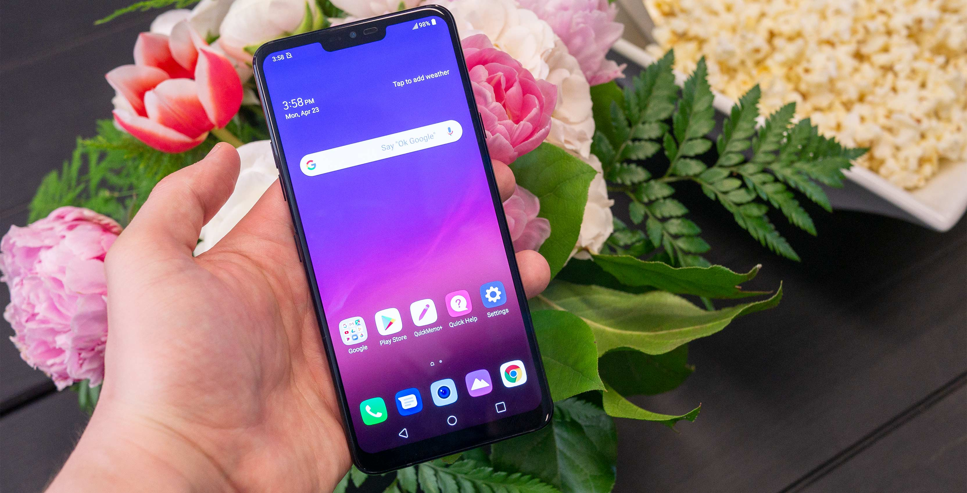 LG G7 ThinQ Hands-on: 'ThinQ' of the possibilities
