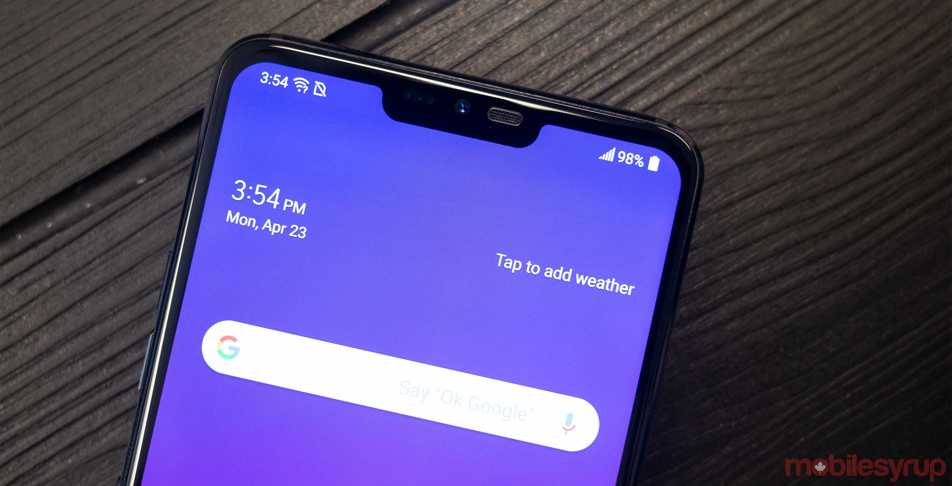 LG G7 ThinQ Canadian pricing and availability