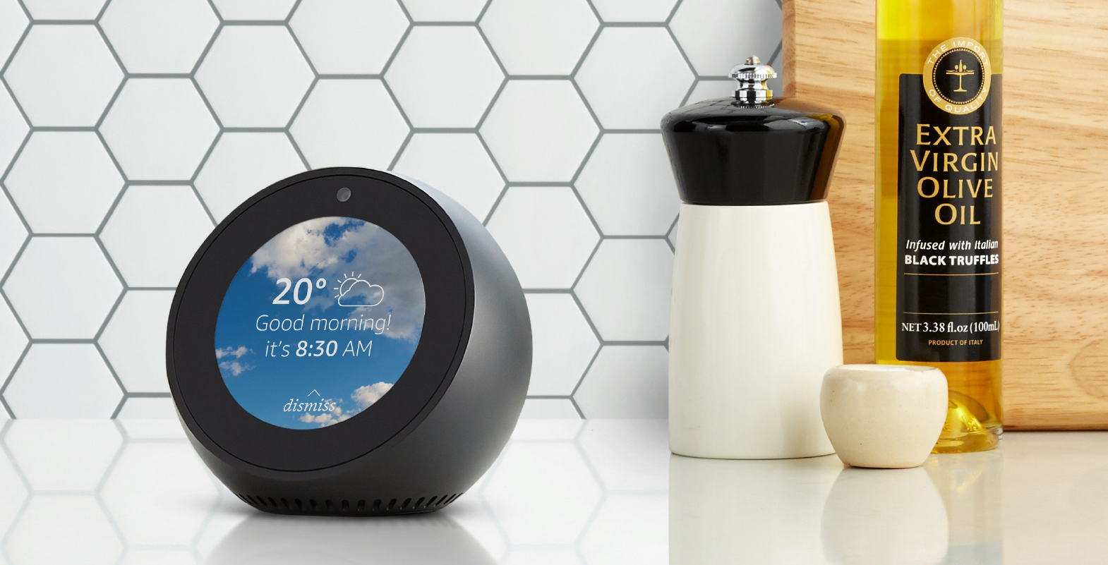 a85d17b430db5f Amazon recently announced that the Echo Spot was set to come to Canada on  April 25th.