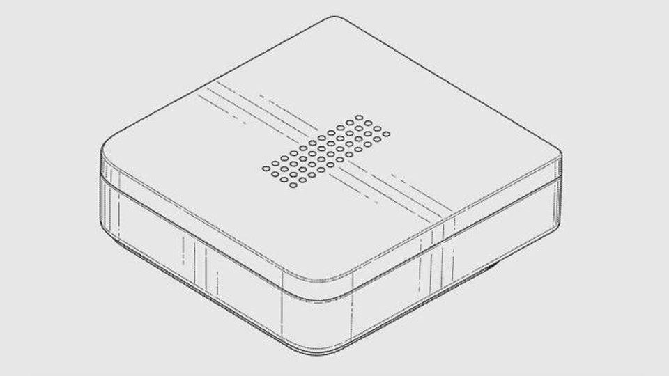 Facebook speaker patent