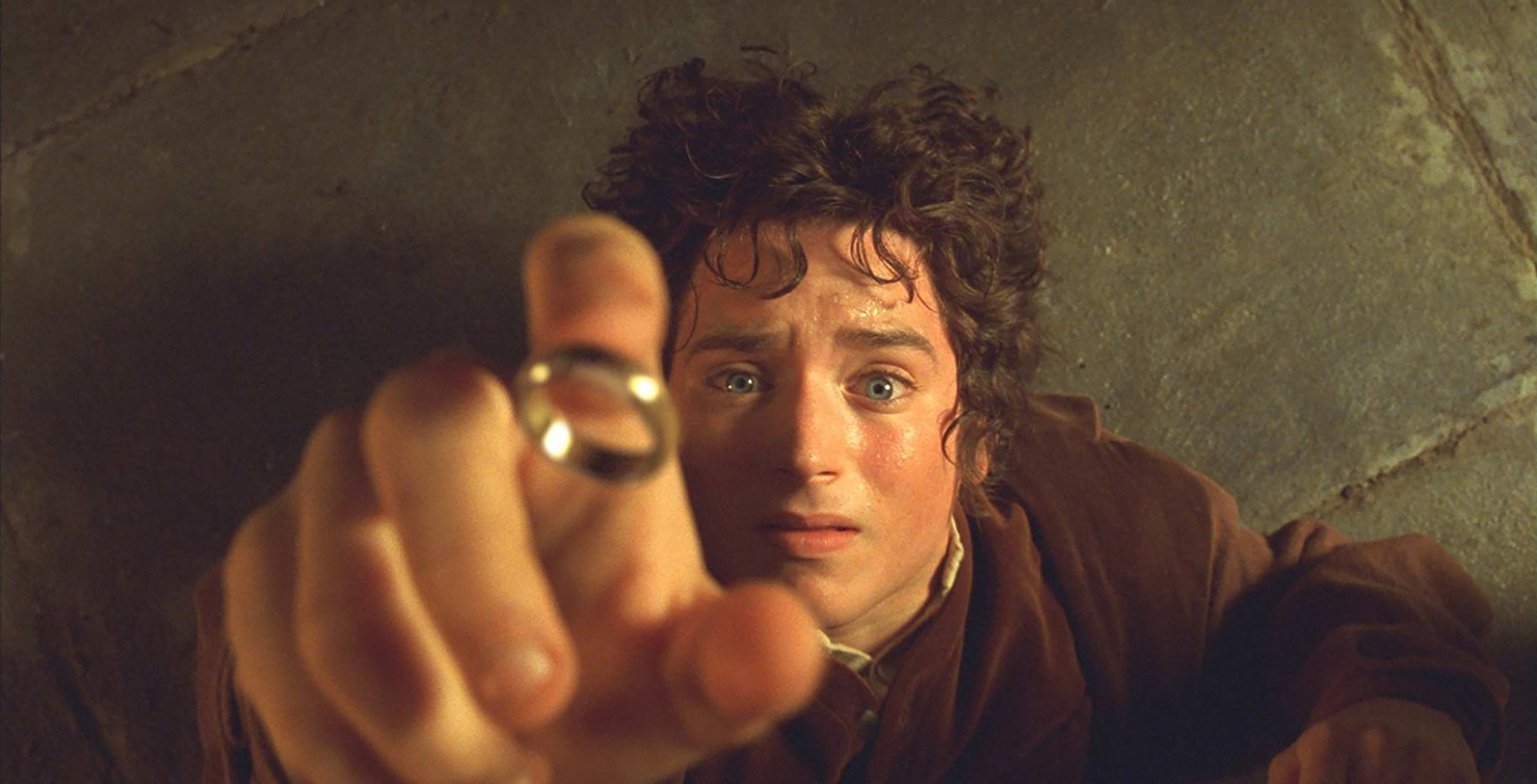 The Lord of the Rings Frodo with ring