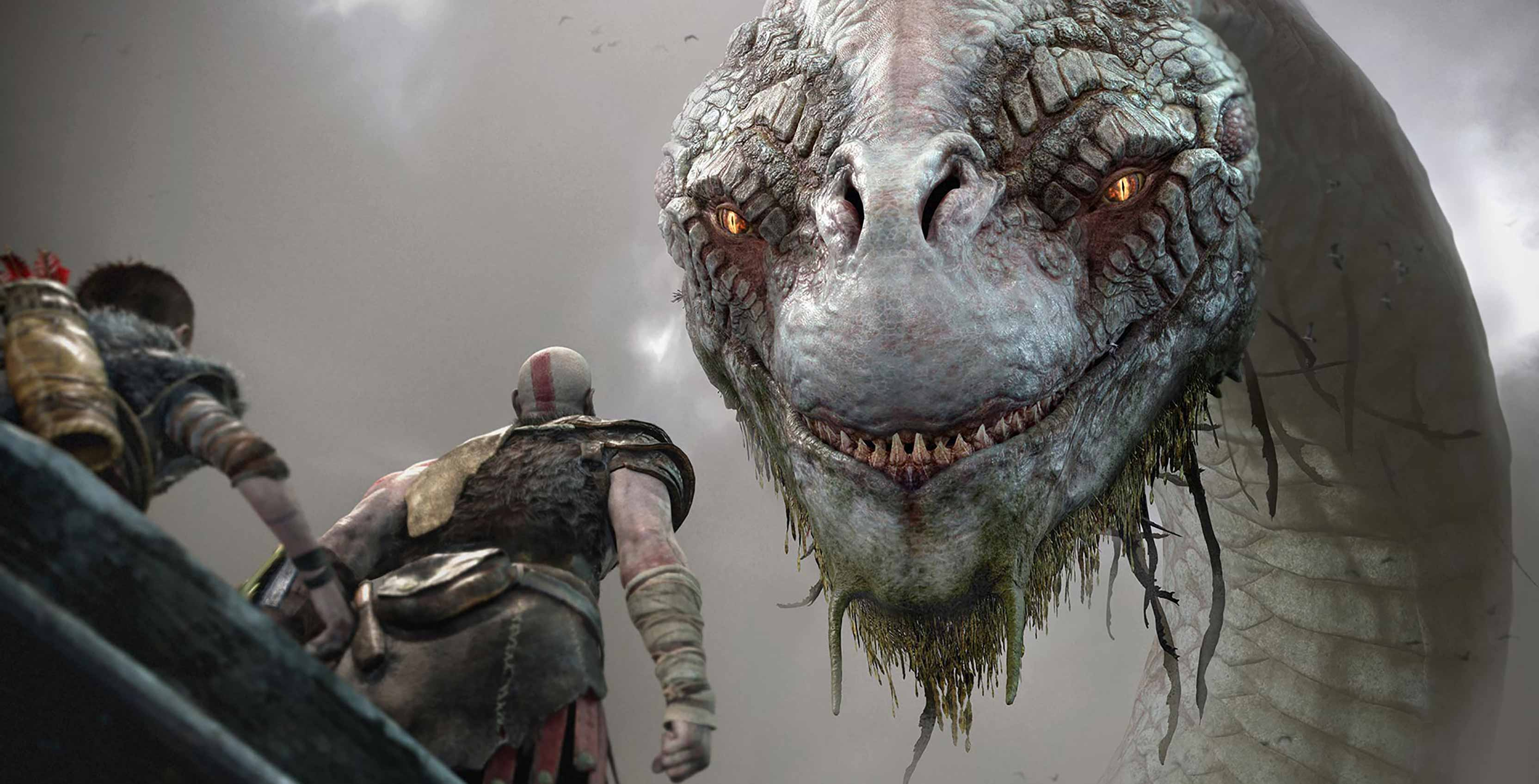 God of War World Serpent
