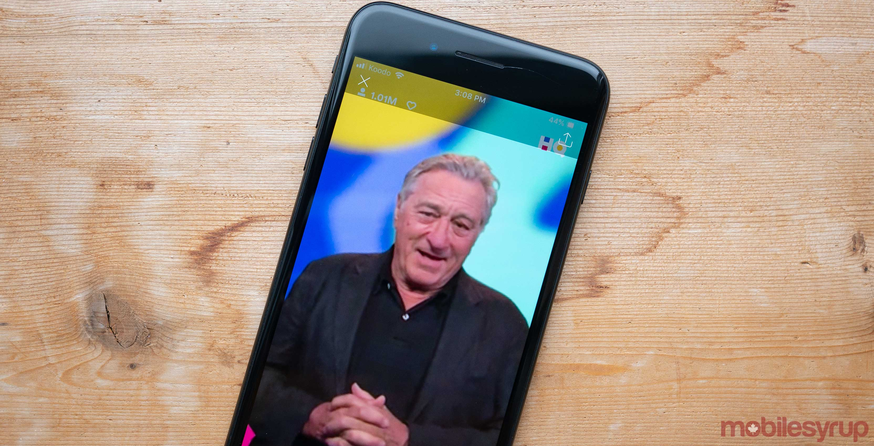 HQ Trivia Robert De Niro screenshot
