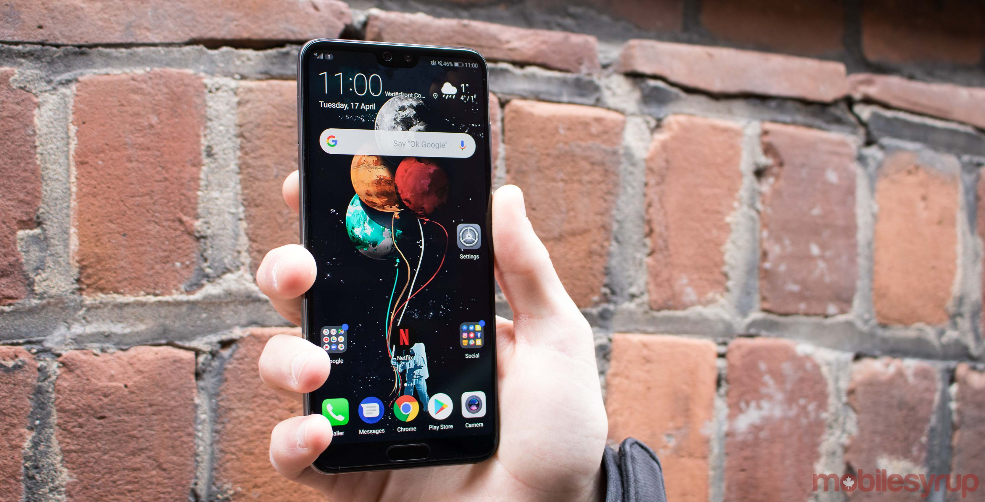 The Huawei P20 series is now available in Canada