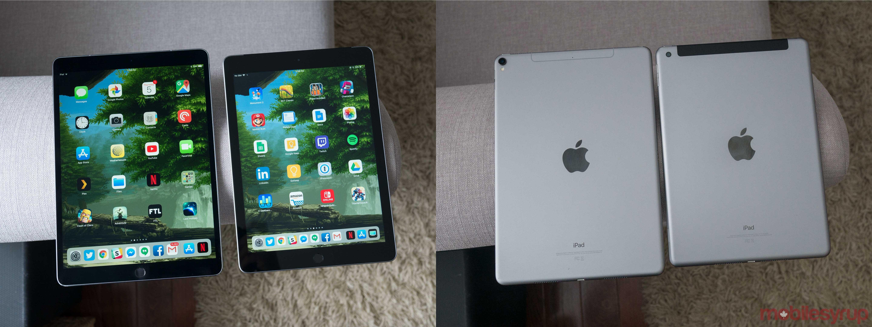 9.7-inch iPad vs 10.5-inch iPad Pro