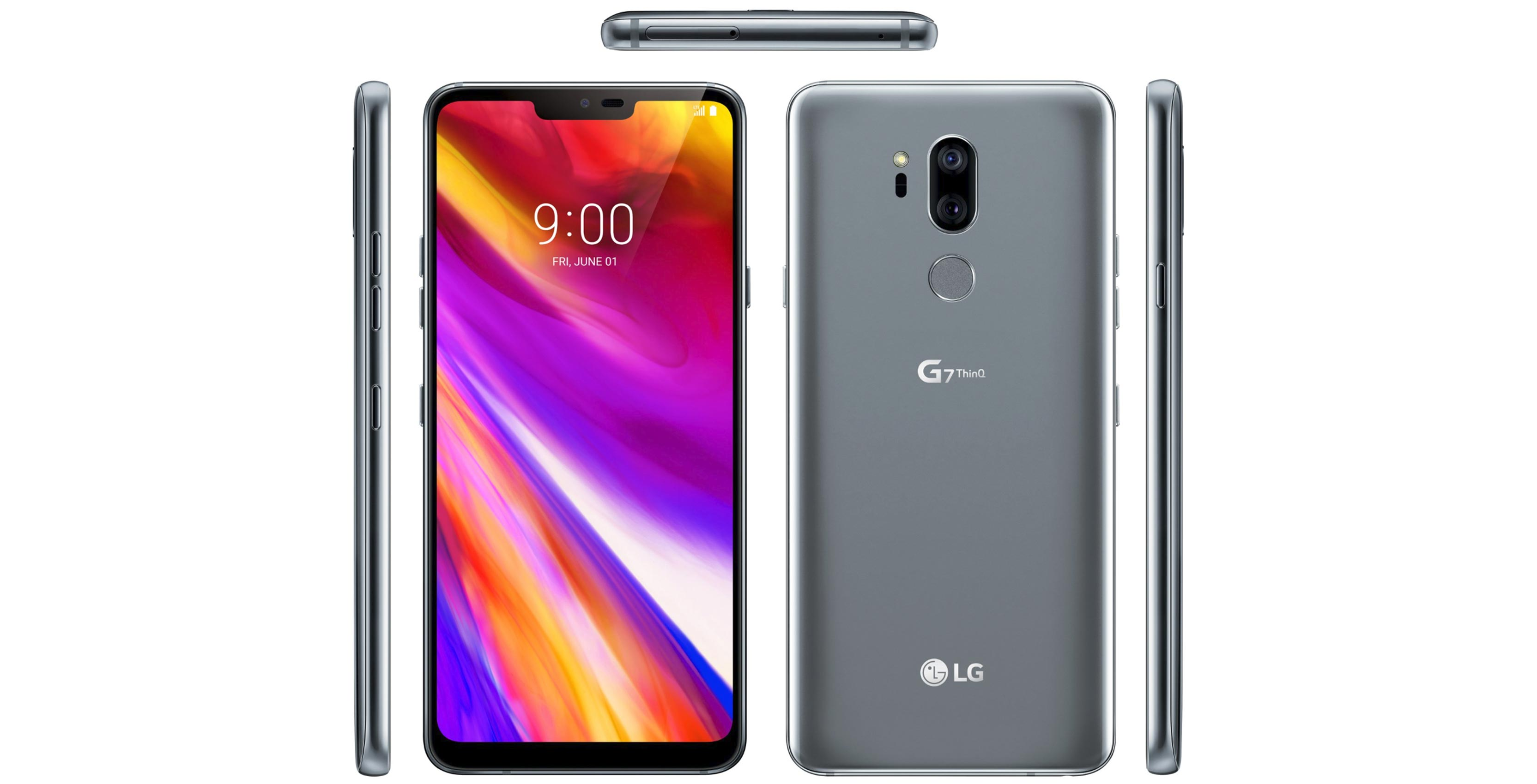 LG G7 ThinQ Super Bright Display cranks up the pixels, controls